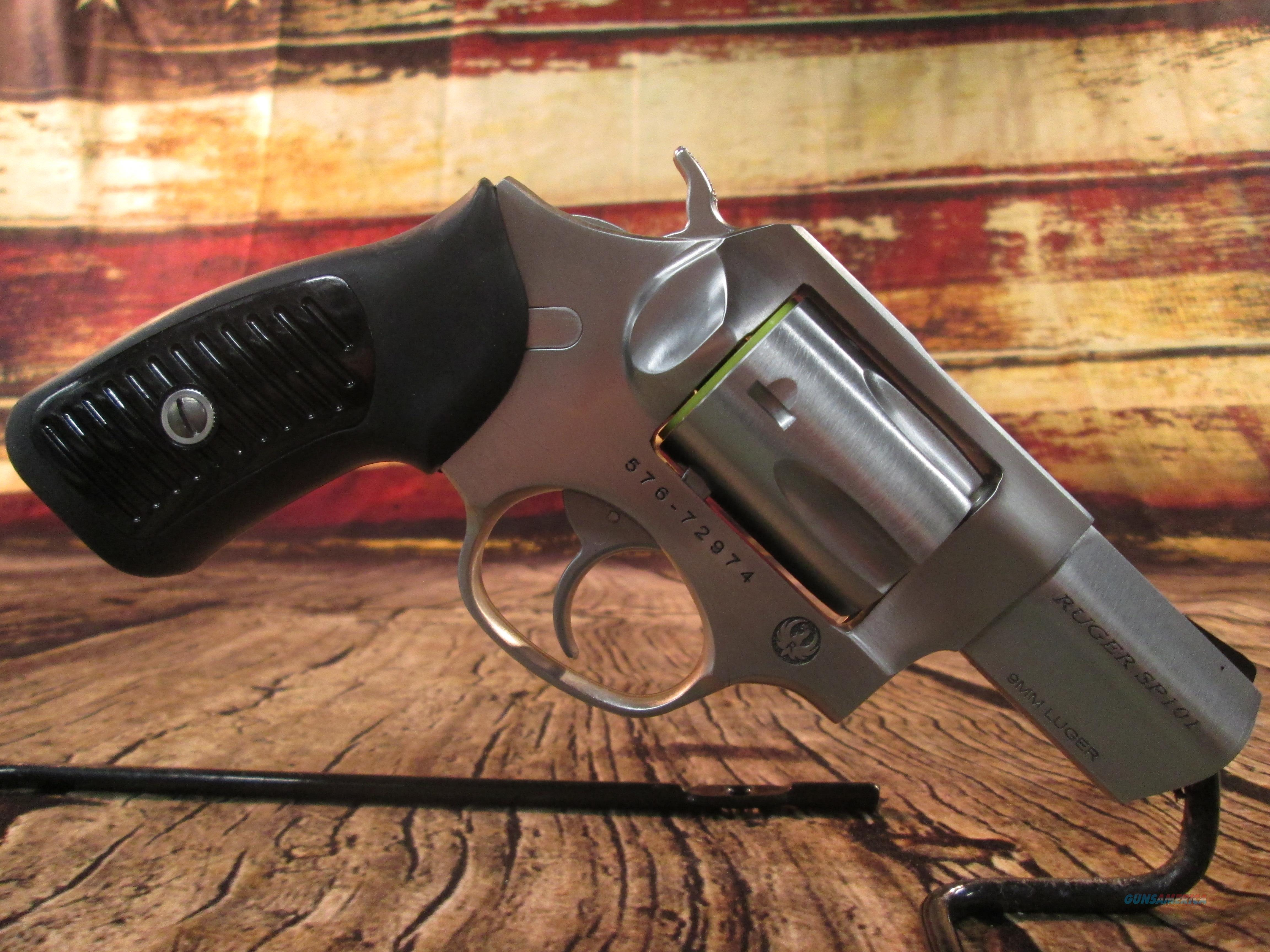 "RUGER SP101 9MM 2.25"" NEW (5783)  Guns > Pistols > Ruger Double Action Revolver > SP101 Type"