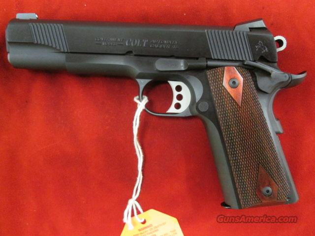 COLT GOV'T. MODEL 1911 ENHANCED SERIES BLUE 45ACP (01980XSE) NEW  Guns > Pistols > Colt Automatic Pistols (1911 & Var)