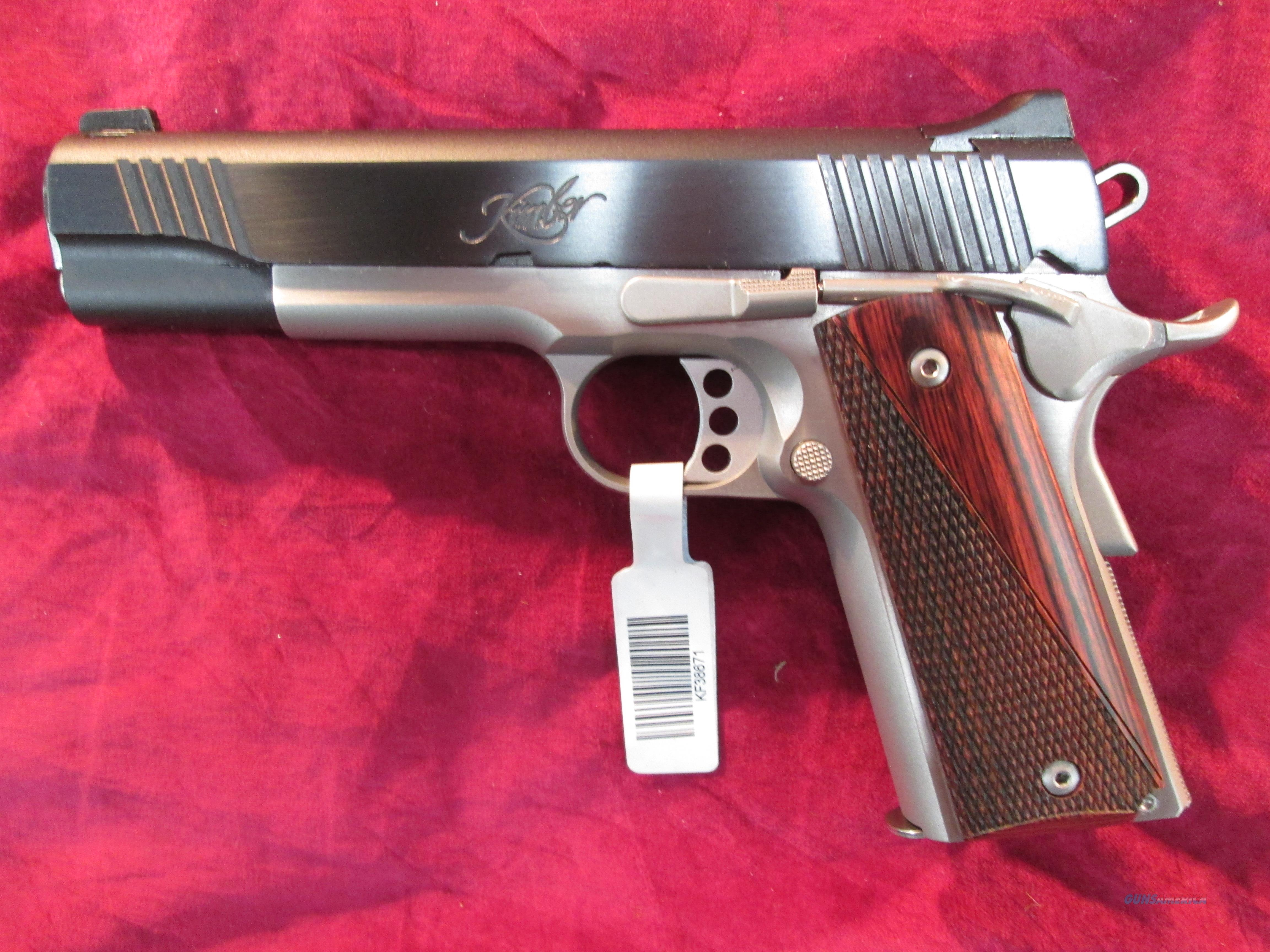 KIMBER CUSTOM II TWO TONE (2016) 9MM NEW  Guns > Pistols > Kimber of America Pistols
