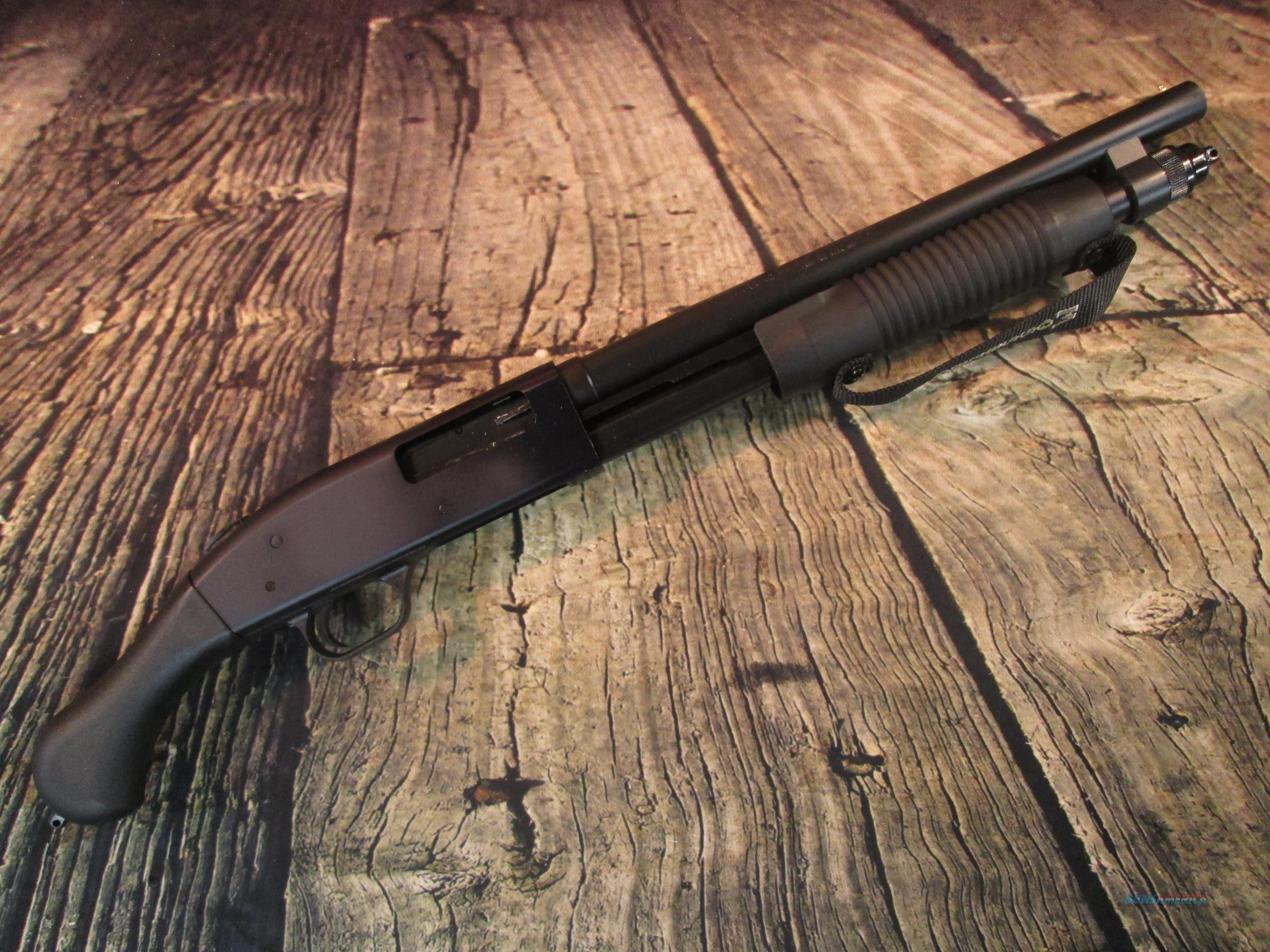MOSSBERG 590 SHOCKWAVE 20 GAUGE NEW (50657)  Guns > Shotguns > Mossberg Shotguns > Pump > Tactical