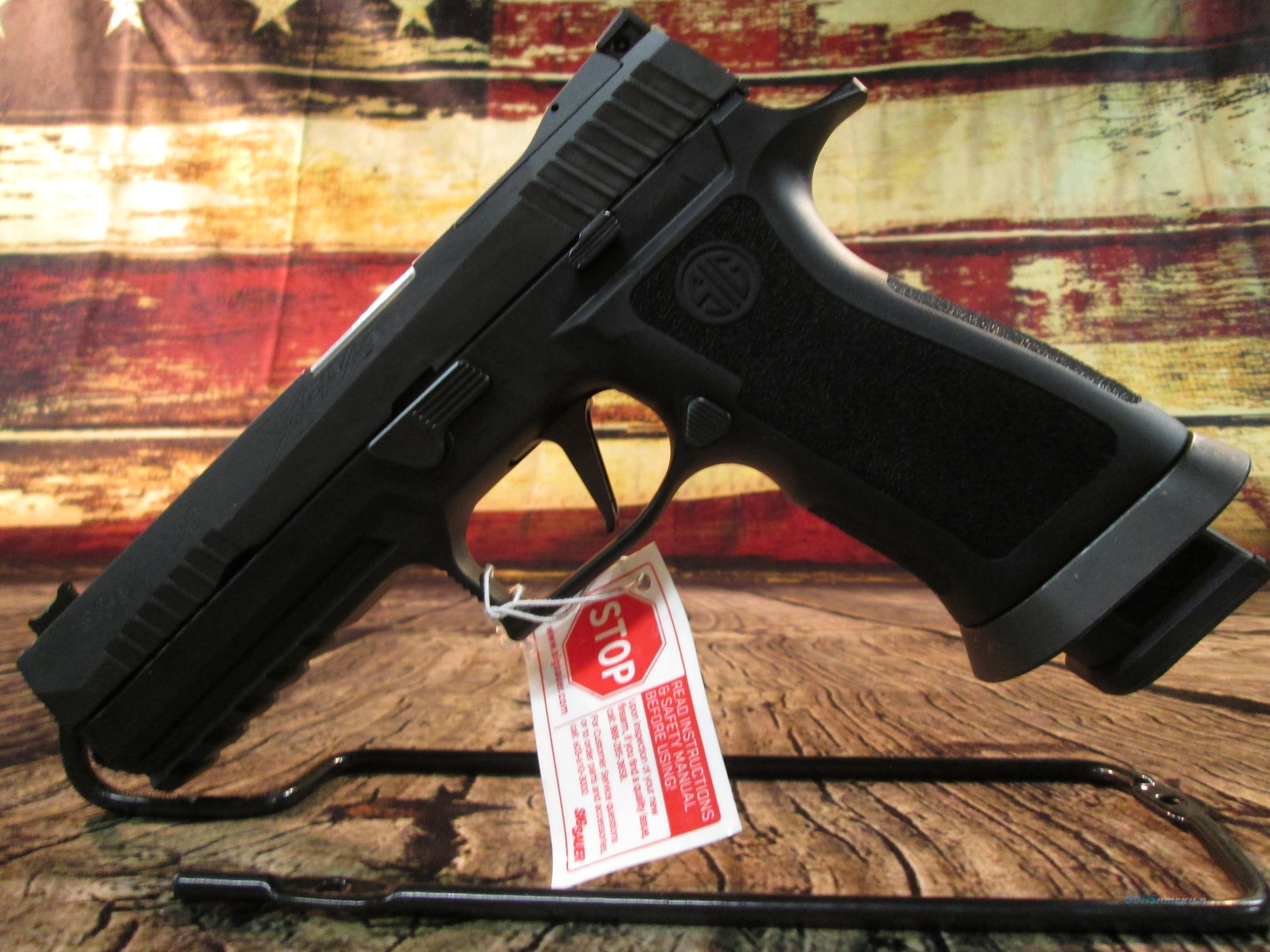 "SIG SAUER P320 X-FIVE 9MM FULL SIZE 5"" NEW (320X5-9-BAS)    Guns > Pistols > Sig - Sauer/Sigarms Pistols > P320"