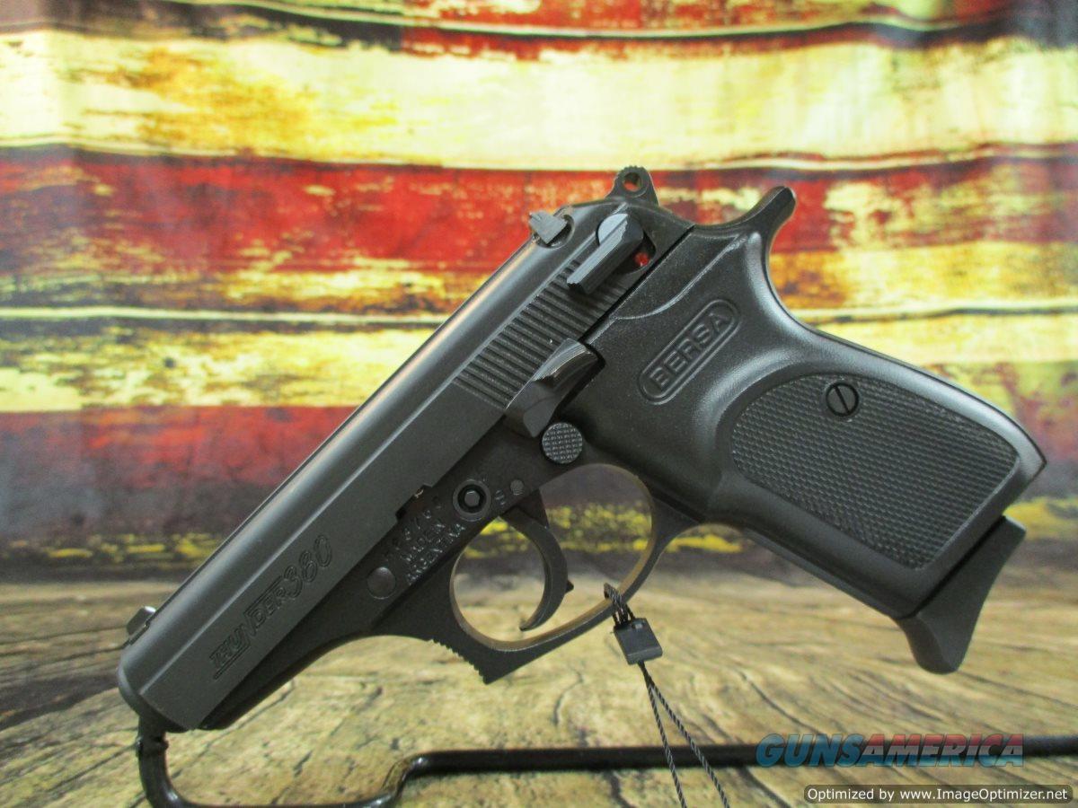 "Bersa Thunder 380 Black 3.5"" 380 ACP (T380M8)  Guns > Pistols > Bersa Pistols"