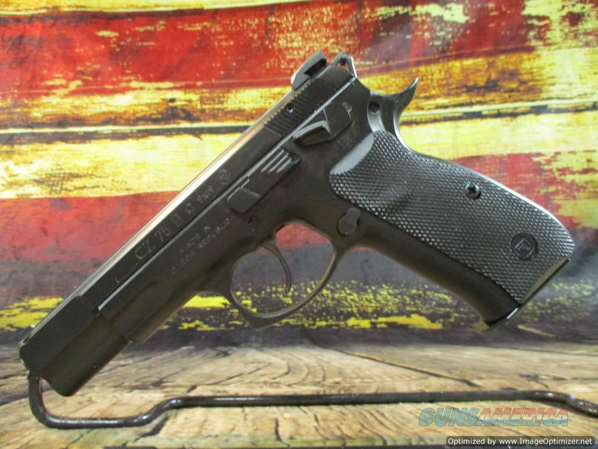 "CZ 9mm Omega 75B Black 4.6"" New (91136)  Guns > Pistols > CZ Pistols"