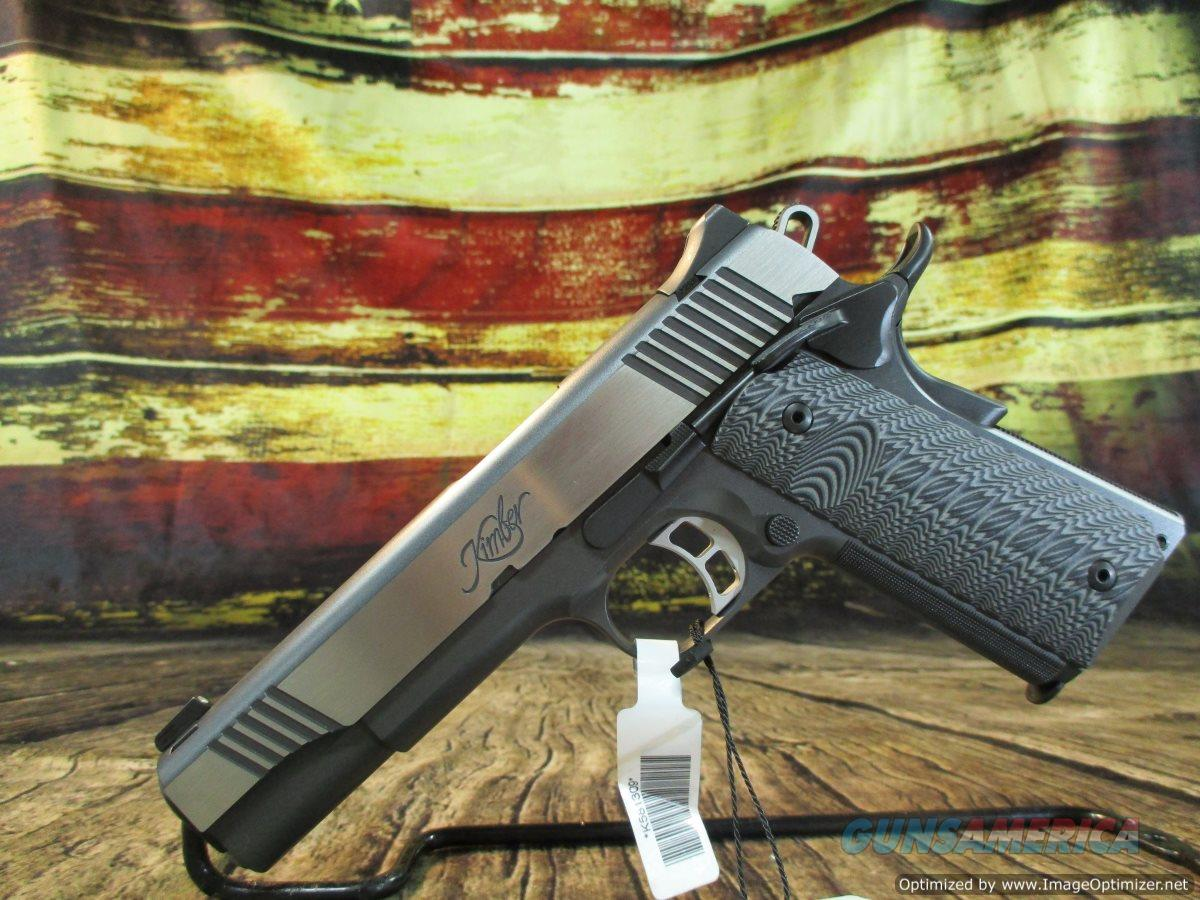 "Kimber 45 ACP Eclipse Custom 1911 5"" New (3000238)  Guns > Pistols > Kimber of America Pistols > 1911"