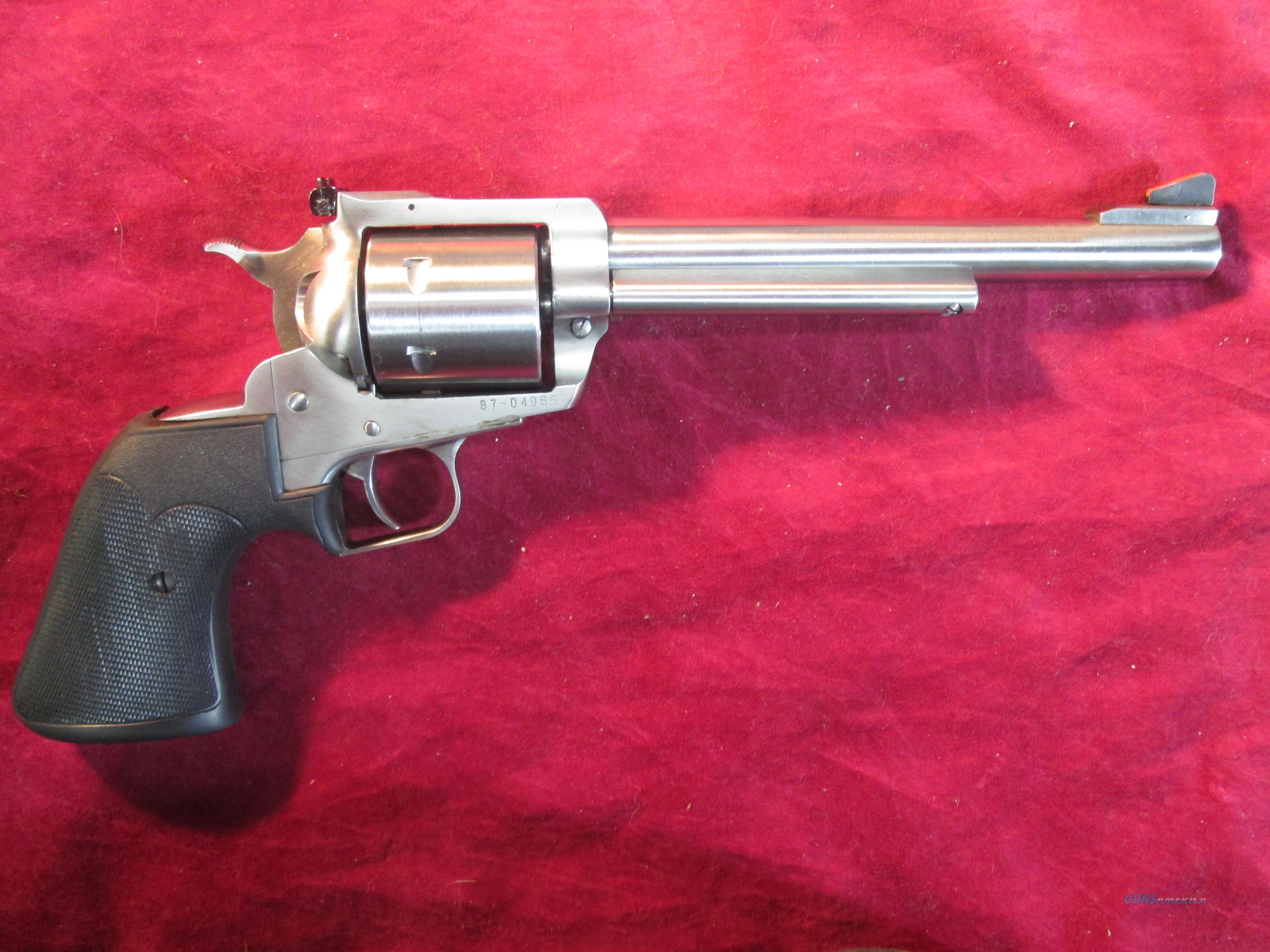 "RUGER SUPER BLACKHAWK STAINLESS 44MAG 7.5"" USED  Guns > Pistols > Ruger Single Action Revolvers > Blackhawk Type"