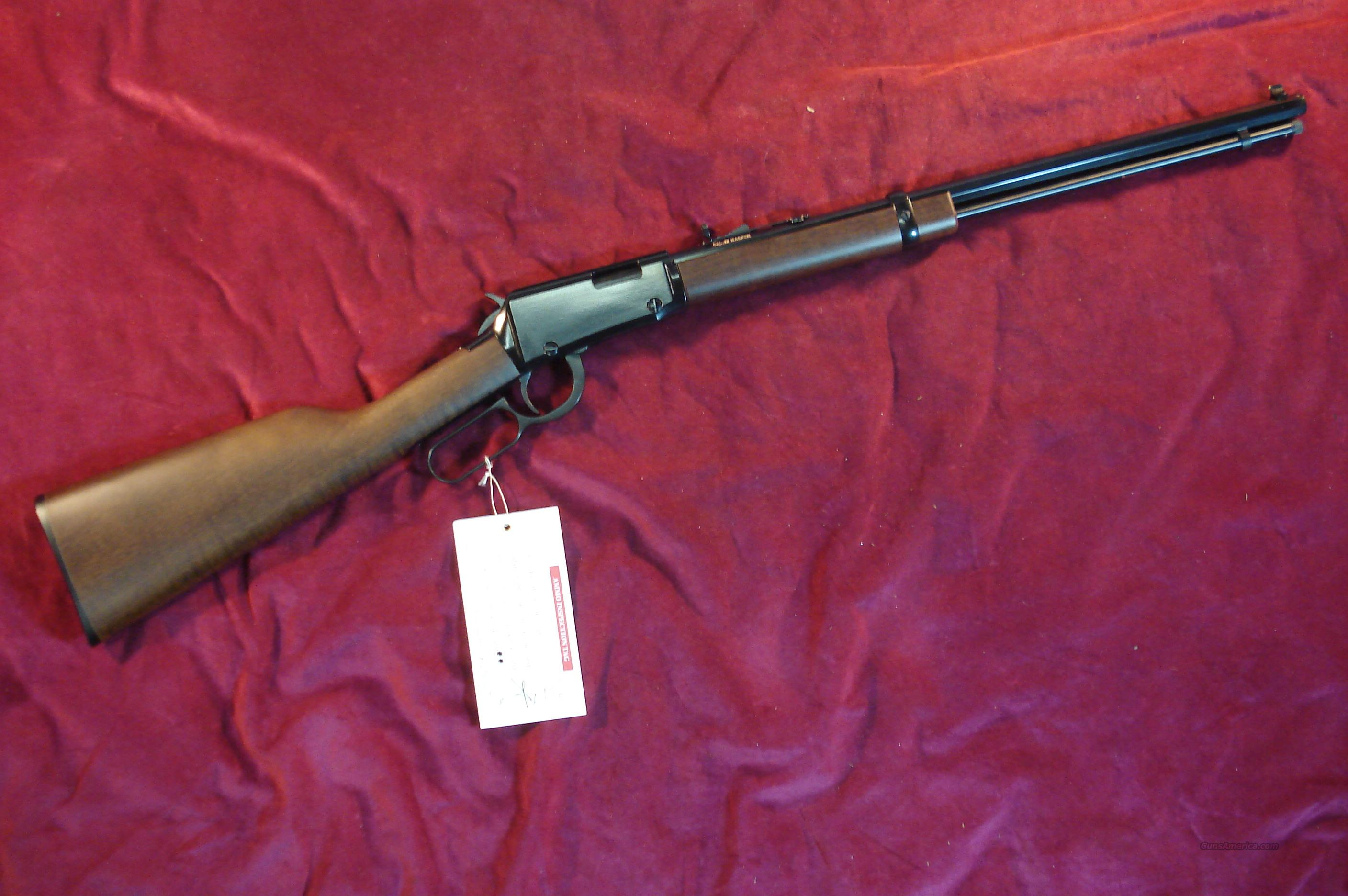 "HENRY LEVER 20"" OCTAGON BARREL 22 MAG NEW    (H001TM)   Guns > Rifles > Henry Rifle Company"