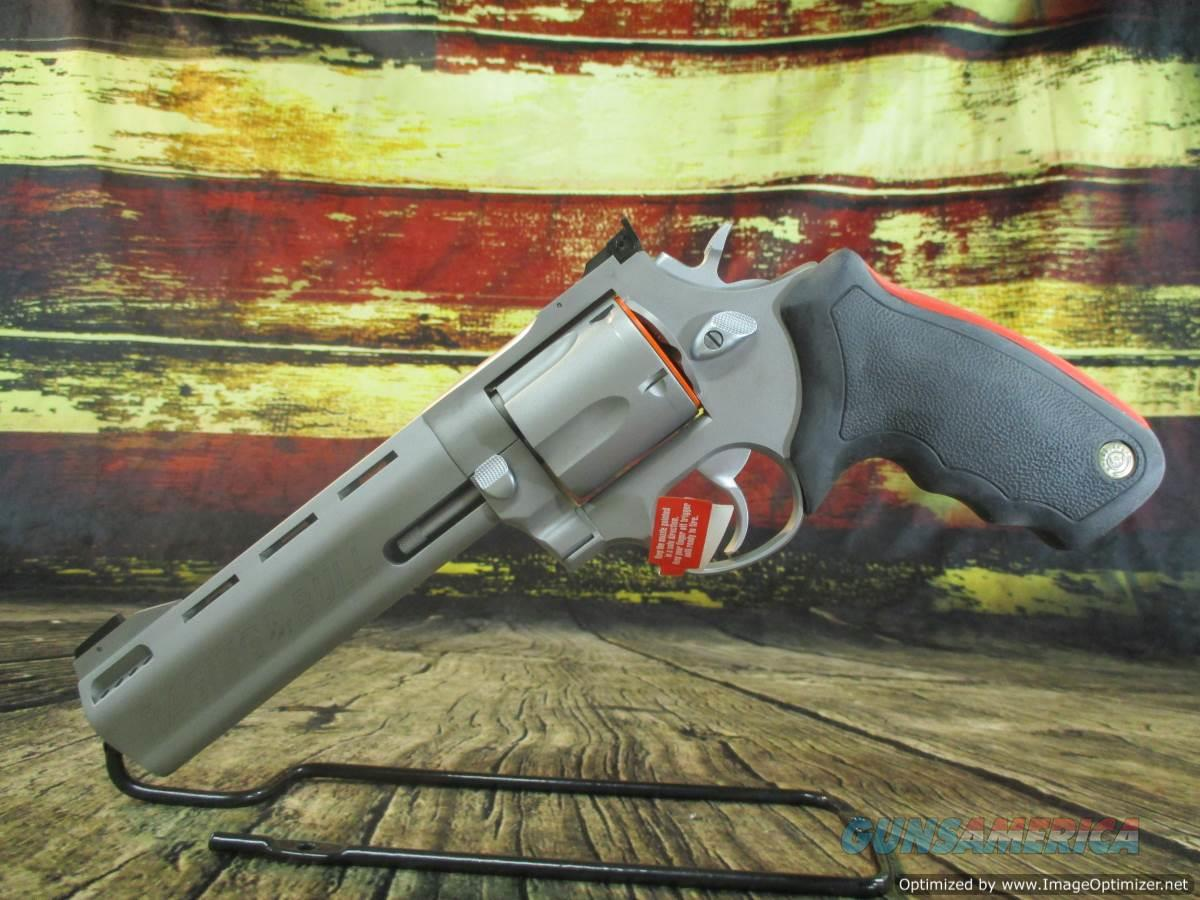 """Taurus Raging Bull 454 Casull 5"""" Stainless Ported New (2-454059M)  Guns > Pistols > Taurus Pistols > Revolvers"""