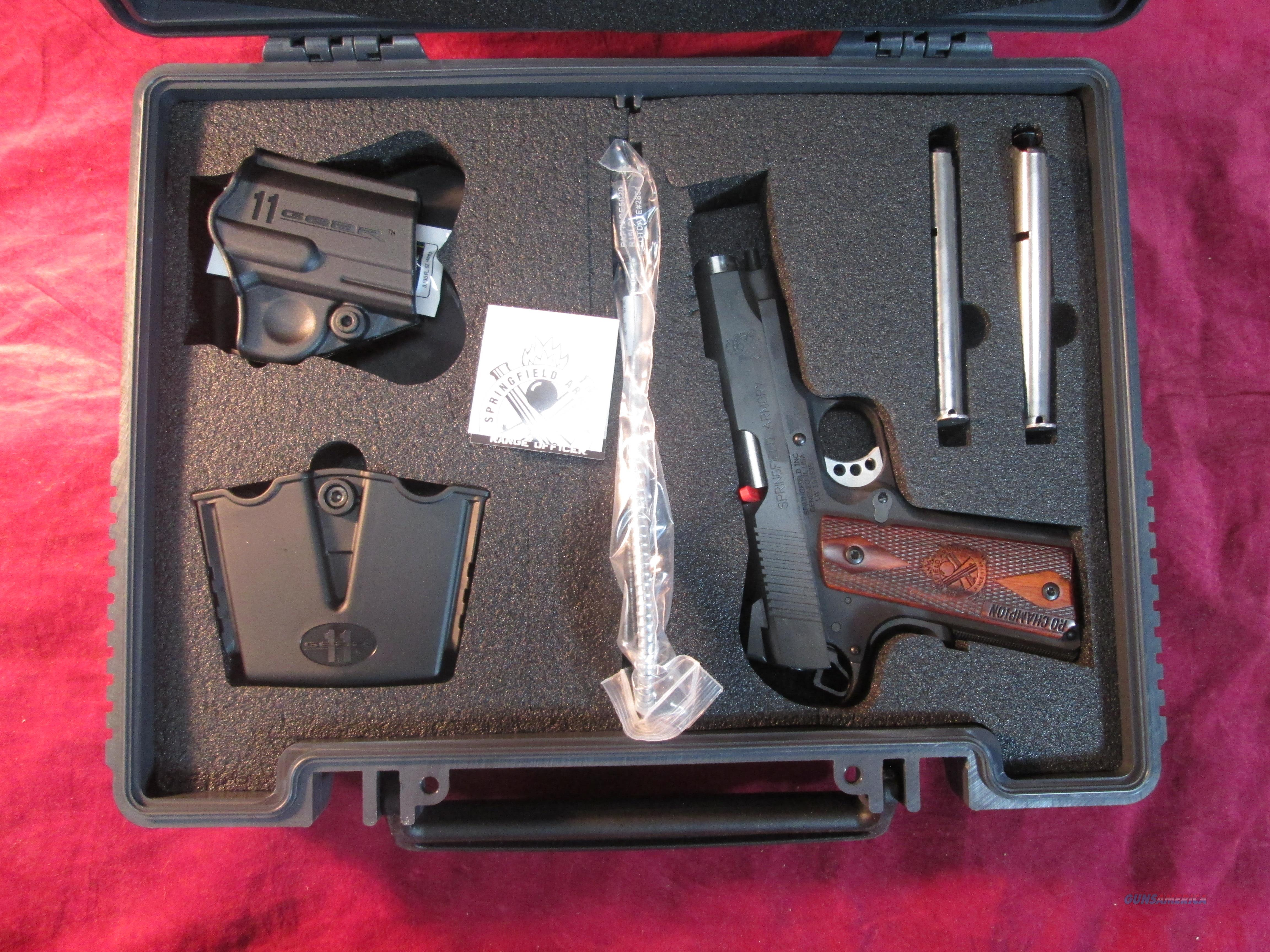 SPRINGFIELD ARMORY 1911 RANGE OFFICER CHAMPION 9MM NEW (PI9137LP)   Guns > Pistols > Springfield Armory Pistols > 1911 Type