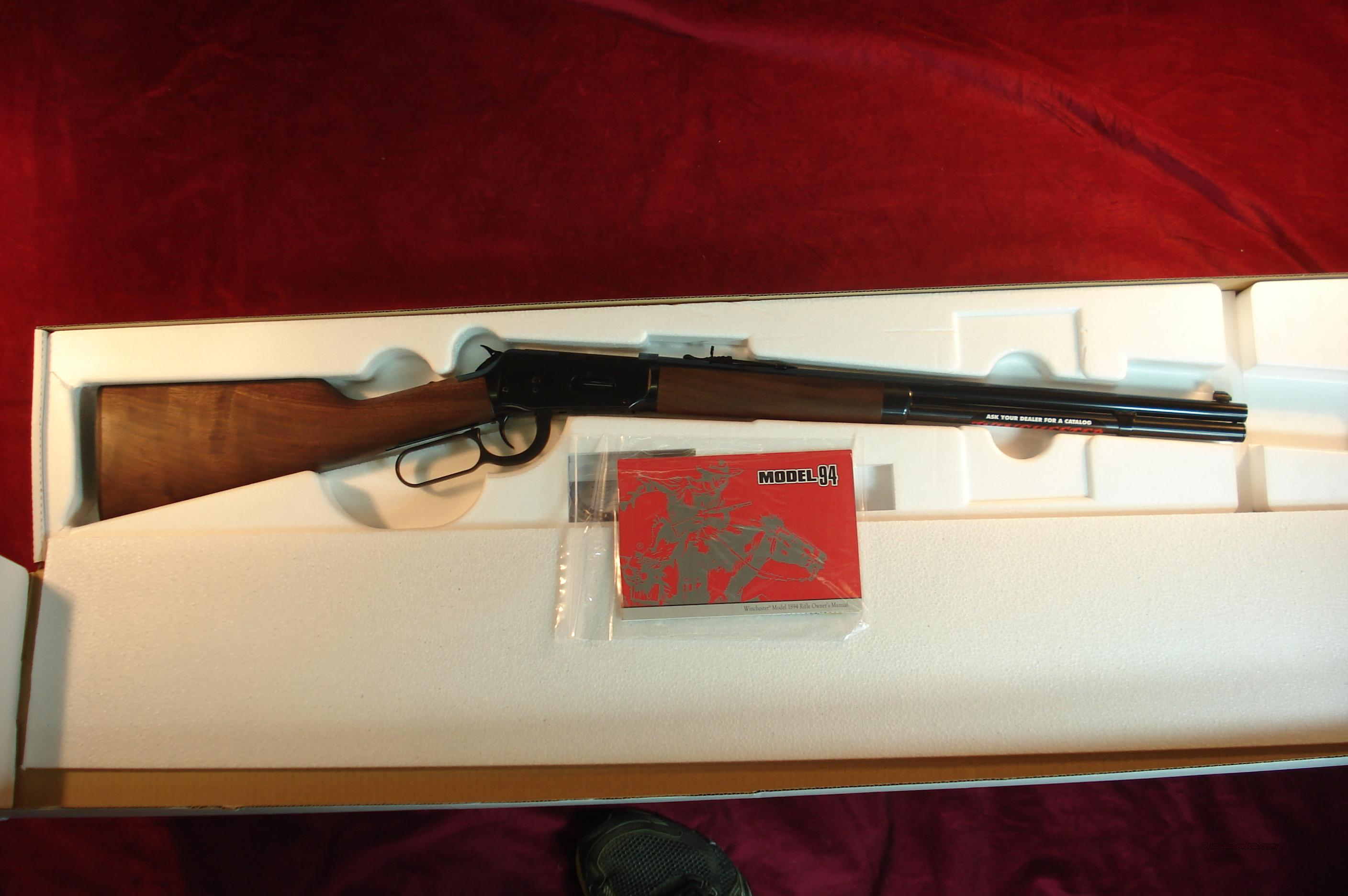 WINCHESTER 94 SHORT LEVER ACTION 38-55 CAL NEW  Guns > Rifles > Winchester Rifles - Modern Lever > Model 94 > Post-64