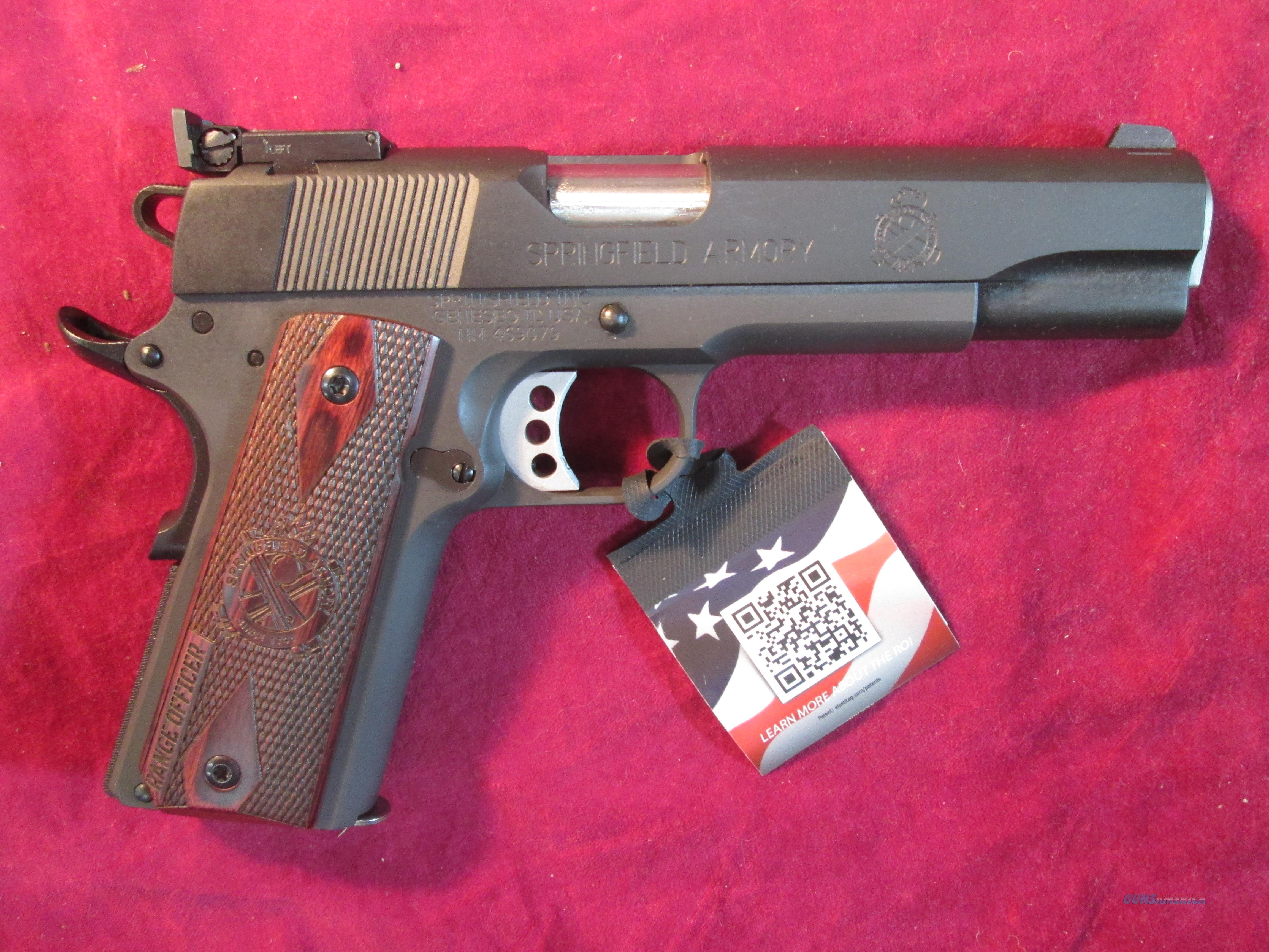 SPRINGFIELD ARMORY 1911 RANGE OFFICER 9MM PARKERIZED W/ TARGET SIGHTS NEW (PI9129L)  Guns > Pistols > Springfield Armory Pistols > 1911 Type