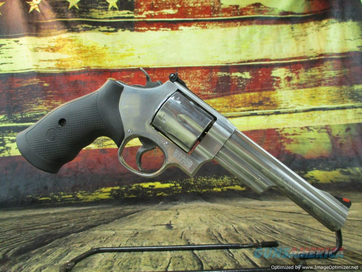 "Smith & Wesson 629 6"" Stainless 44 mag Used 6-round (67412)  Guns > Pistols > Smith & Wesson Revolvers > Model 629"