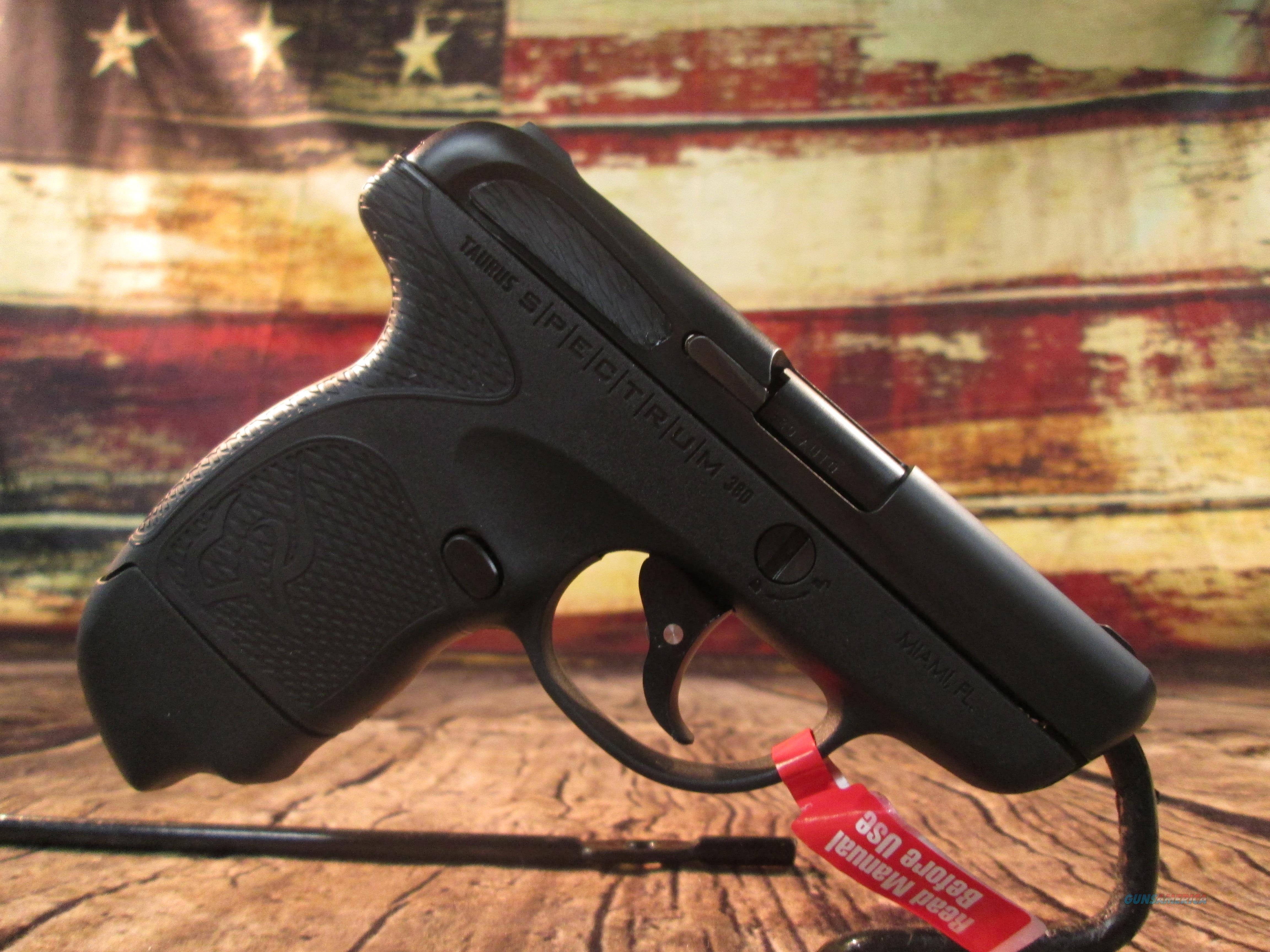 Taurus Spectrum .380 ACP New (1007031101)  ** Mail In Rebate**  Guns > Pistols > Taurus Pistols > Semi Auto Pistols > Polymer Frame