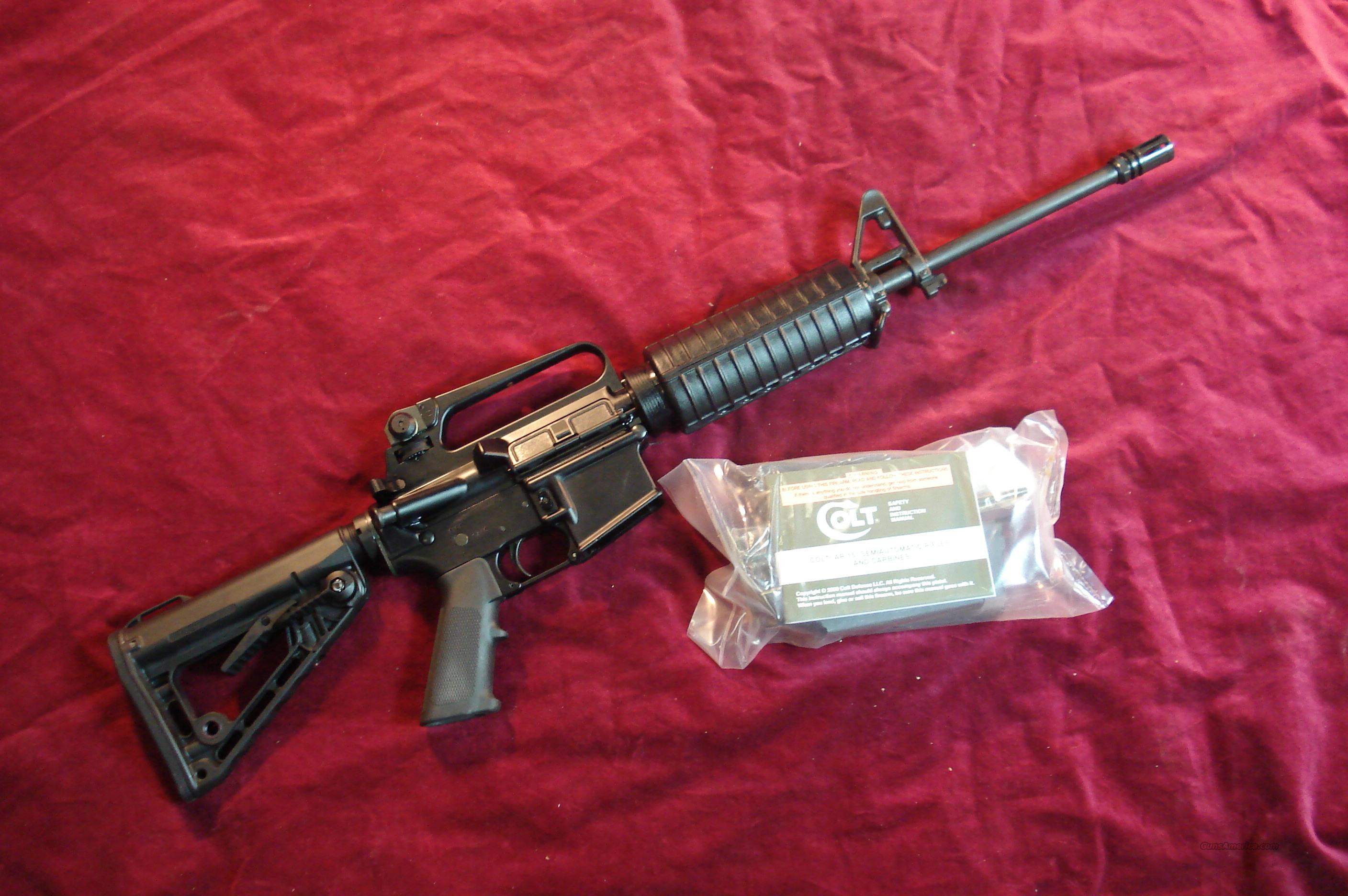COLT GOVERNMENT CARBINE  AR-15 NEW (AR6520)  Guns > Rifles > Colt Military/Tactical Rifles
