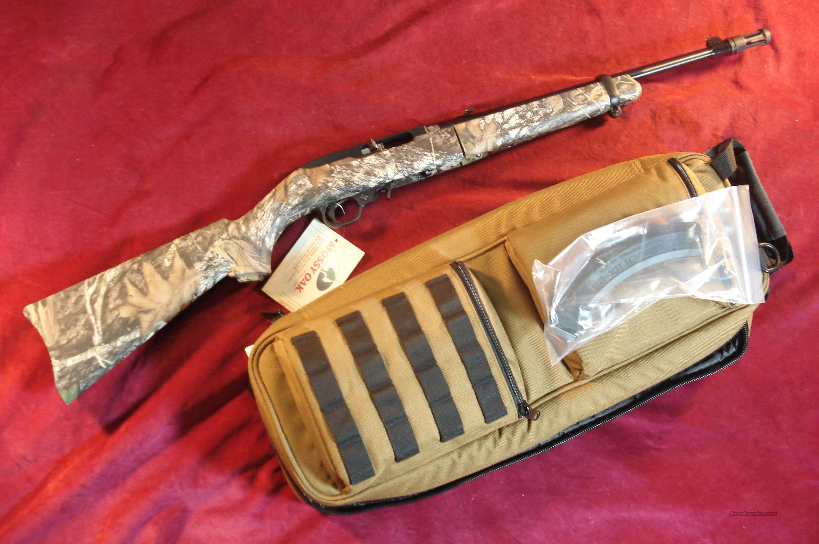 RUGER 10/22 TAKEDOWN BLUED,MOSSY OAK CAMO NEW  Guns > Rifles > Ruger Rifles > 10-22
