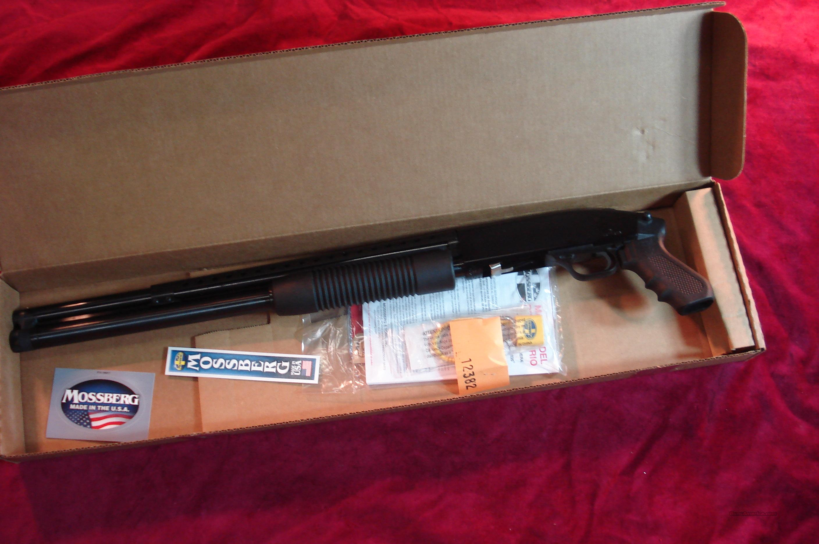 MOSSBERG 500 TACTICAL 12G PISTOL GRIP SHOTGUN W/MAGAZINE EXTENTION AND HEAT SHIELD NEW   (50580)  Guns > Shotguns > Mossberg Shotguns > Pump > Tactical