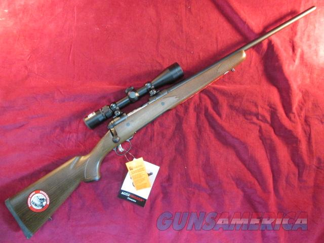SAVAGE 10 TROPHY HUNTER XP 22-250 CAL WALNUT W/ 3X9 NIKON SCOPE NEW  (19715)   Guns > Rifles > Savage Rifles > Accutrigger Models > Sporting