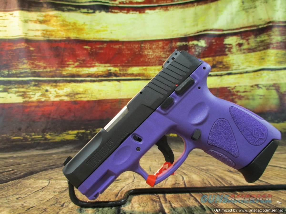 "Taurus 3.2"" G2C Dark Purple/Black 9MM New (1-G2C931-12DP)  Guns > Pistols > Taurus Pistols > Semi Auto Pistols > Polymer Frame"
