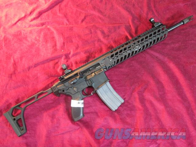 "SIG SAUER MCX PATROL RIFLE 16"" 300 BLACKOUT W/ FOLDING STOCK NEW   Guns > Rifles > Sig - Sauer/Sigarms Rifles"