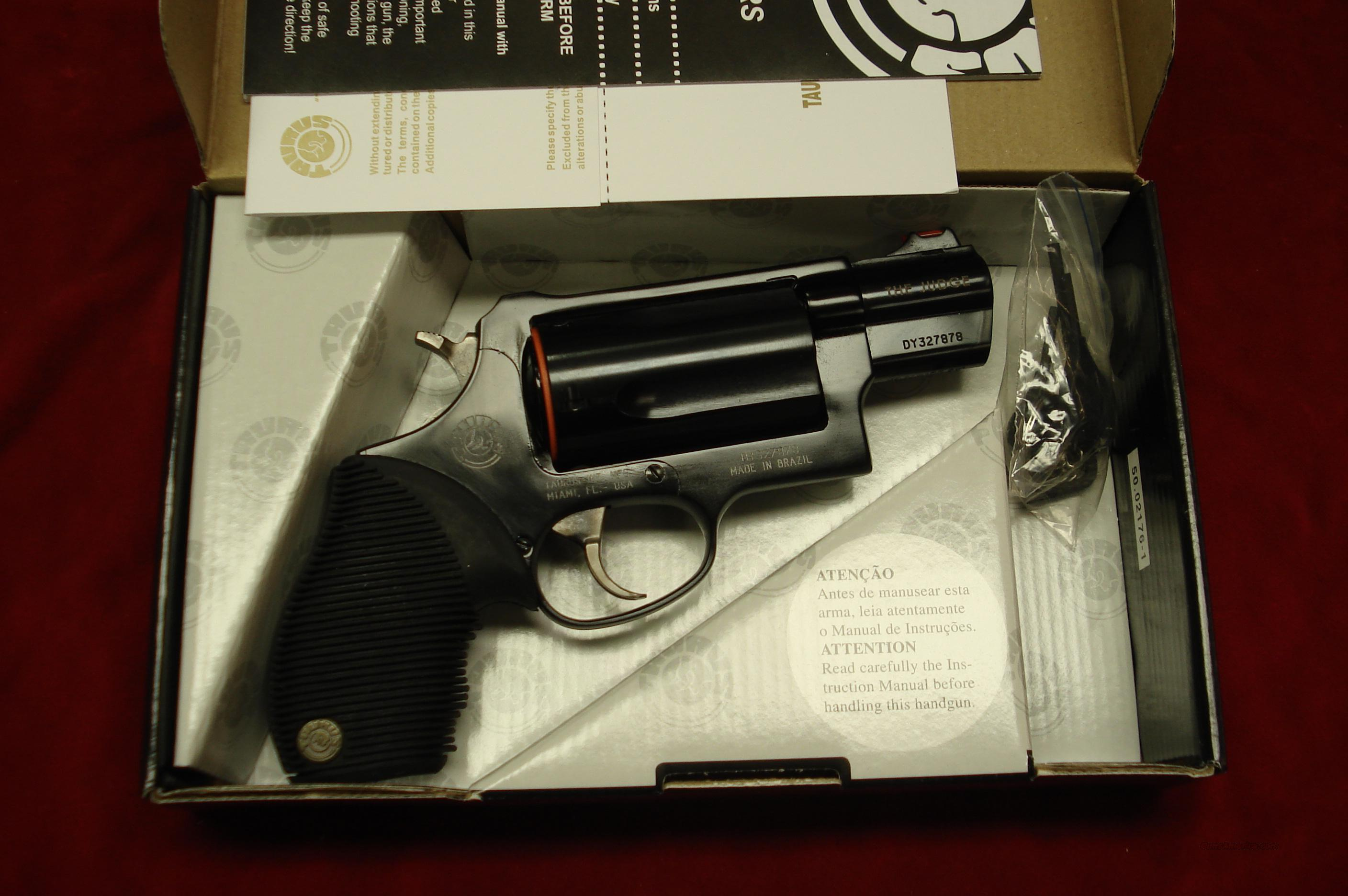 "TAURUS  ""THE JUDGE"" 2"" BLUE ULTRA-LITE PUBLIC DEFENDER NEW  Guns > Pistols > Taurus Pistols/Revolvers > Revolvers"