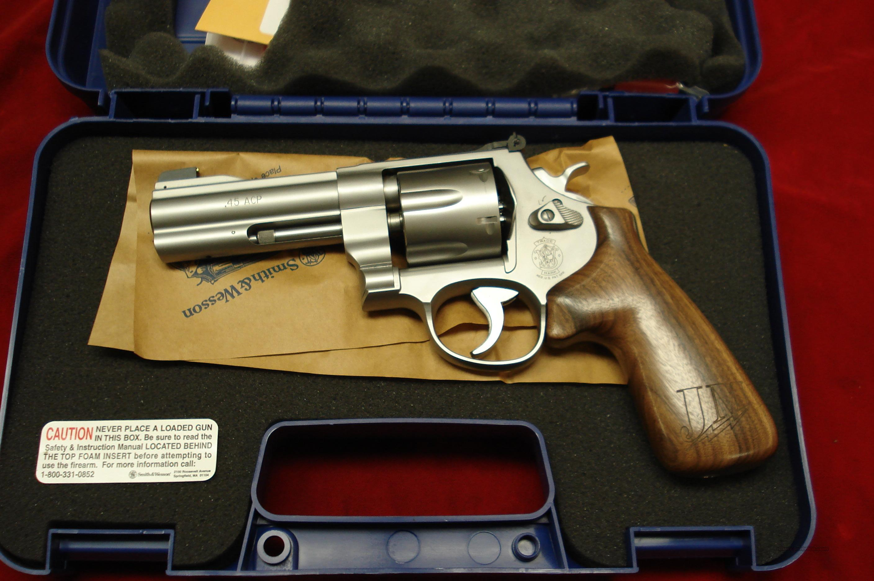 "SMITH AND WESSON MODEL625JM  ""Jerry Miculek"" Professional (JMP) Series STAINLESS 45ACP NEW   (160936)  Guns > Pistols > Smith & Wesson Revolvers > Full Frame Revolver"