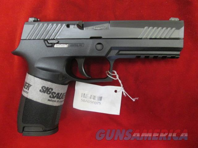 SIG SAUER P320 FULL SIZE 9MM W/ NIGHT SIGHTS NEW  (320F-9-BSS)   {{ FACTORY MAIL IN REBATE OFFER }}  Guns > Pistols > Sig - Sauer/Sigarms Pistols > P320