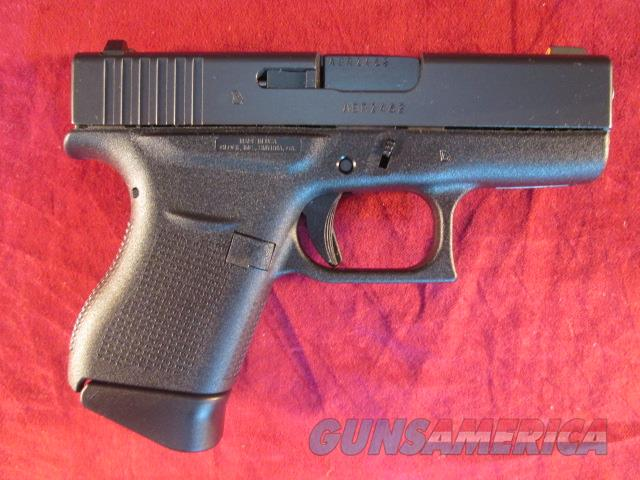 GLOCK MODEL 43 TALO EDITION 9MM NEW  (UI4350501)   Guns > Pistols > Glock Pistols > 43