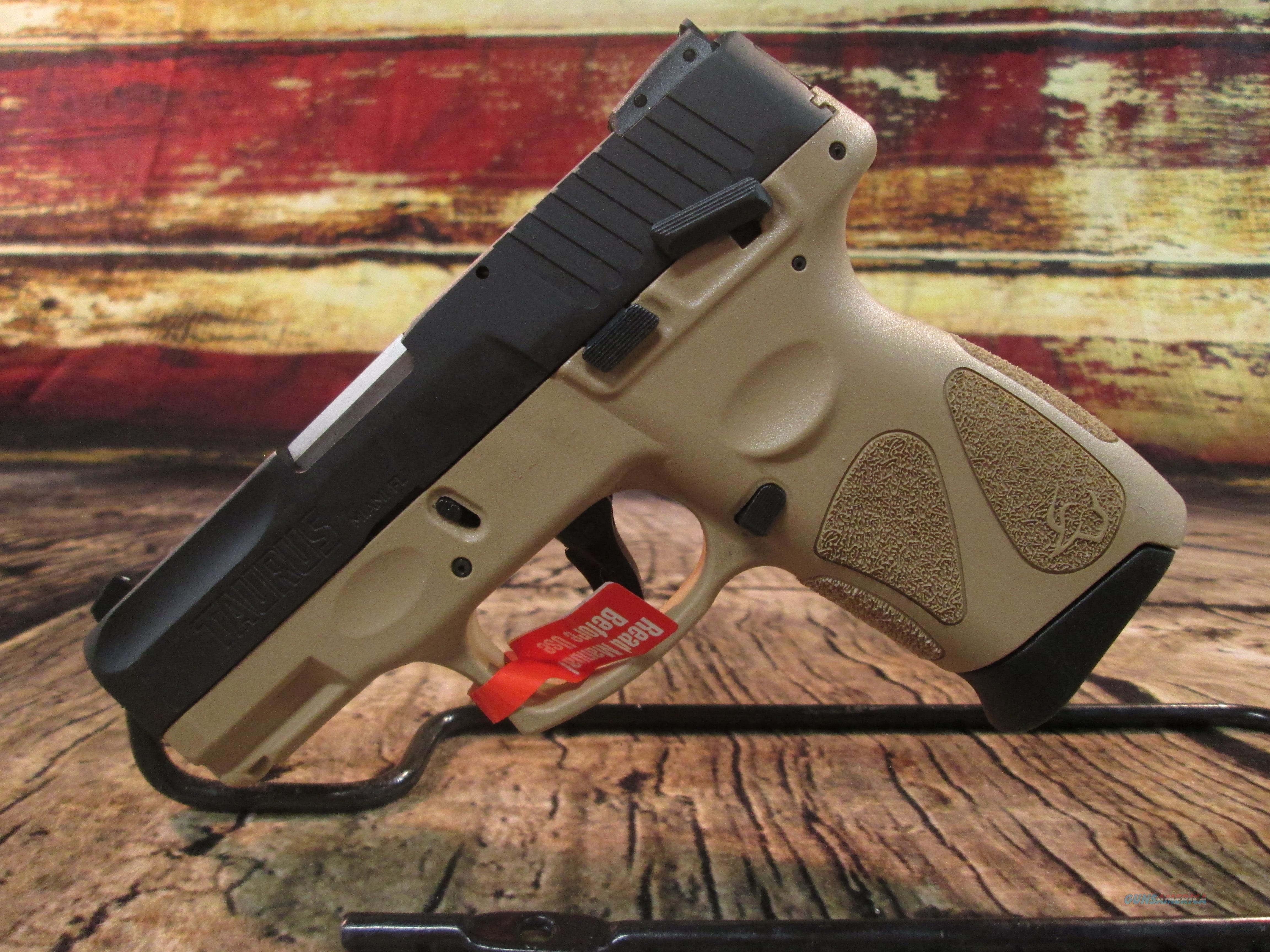 TAURUS G2C  .9MM NEW (1-G2C931-12T)    Guns > Pistols > Taurus Pistols > Semi Auto Pistols > Polymer Frame