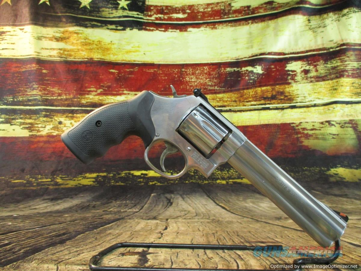 "Smith & Wesson 357 Mag 686 Plus 6"" (164198)  Guns > Pistols > Smith & Wesson Revolvers > Med. Frame ( K/L )"