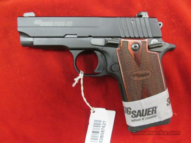 SIG SAUER 938-22LR ROSEWOOD GRIP AND NIGHT SIGHTS NEW  Guns > Pistols > Sig - Sauer/Sigarms Pistols > Other