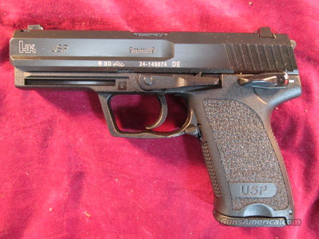 HK USP 9MM WITH HIGH CAPACITY MAGAZINES NEW   (M709001-A5)   Guns > Pistols > Heckler & Koch Pistols > Polymer Frame
