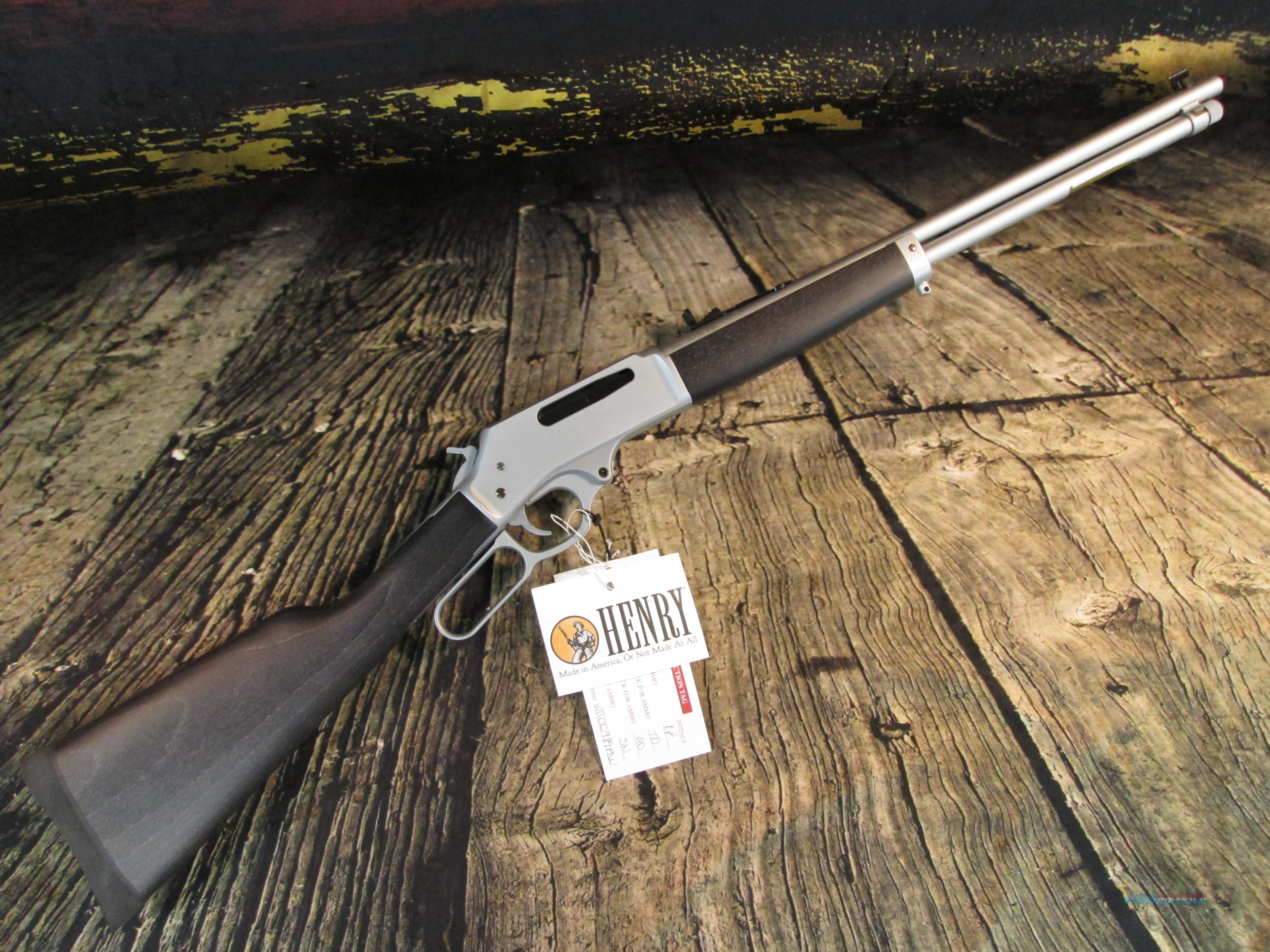"Henry 30-30 Win. All Weather Lever 20"" New (H009AW)  Guns > Rifles > Henry Rifle Company"