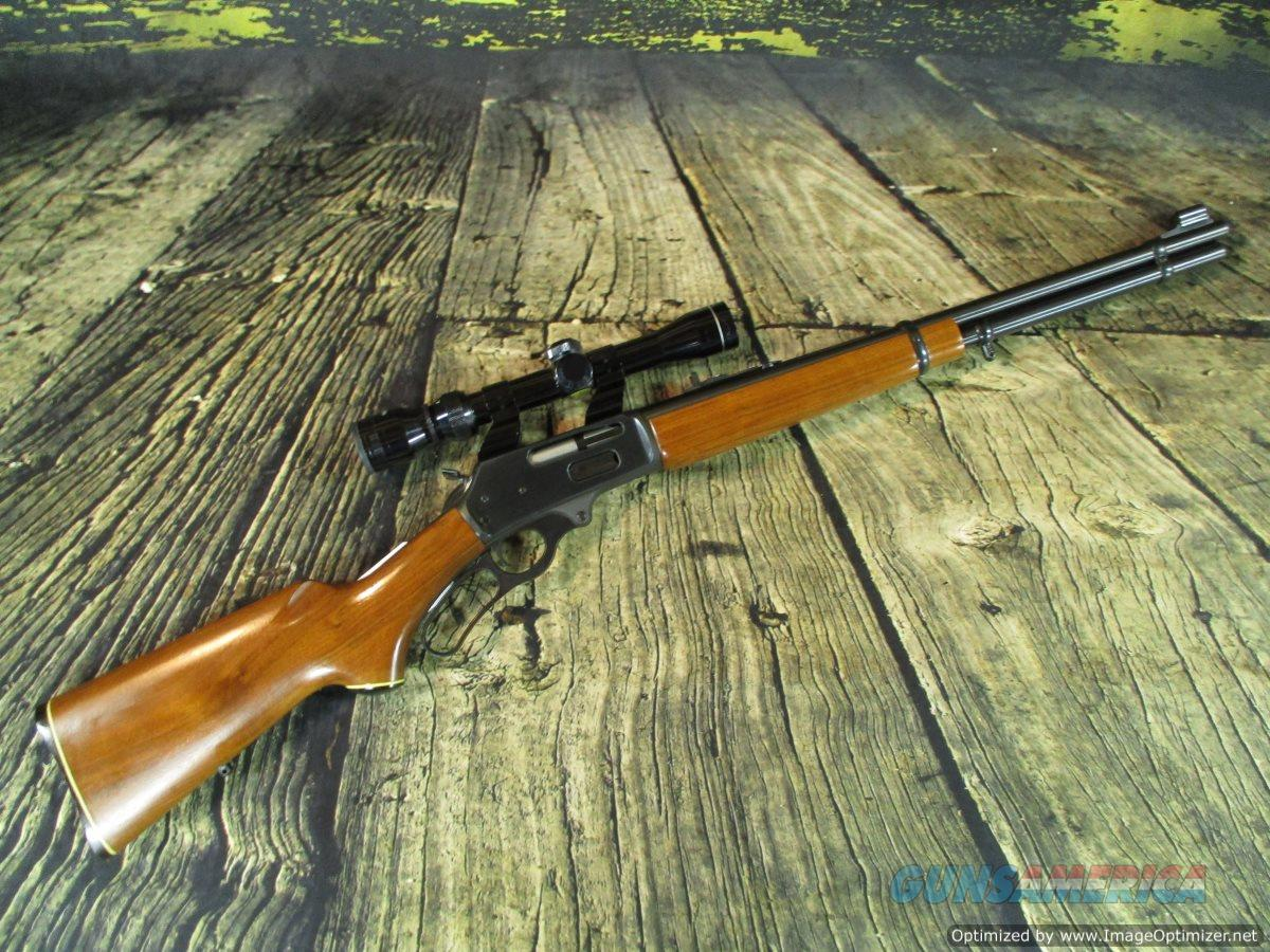 """JM Marlin 336 Lever 30-30 20"""" used with 2-7 scope (67301ST)  Guns > Rifles > Marlin Rifles > Modern > Lever Action"""
