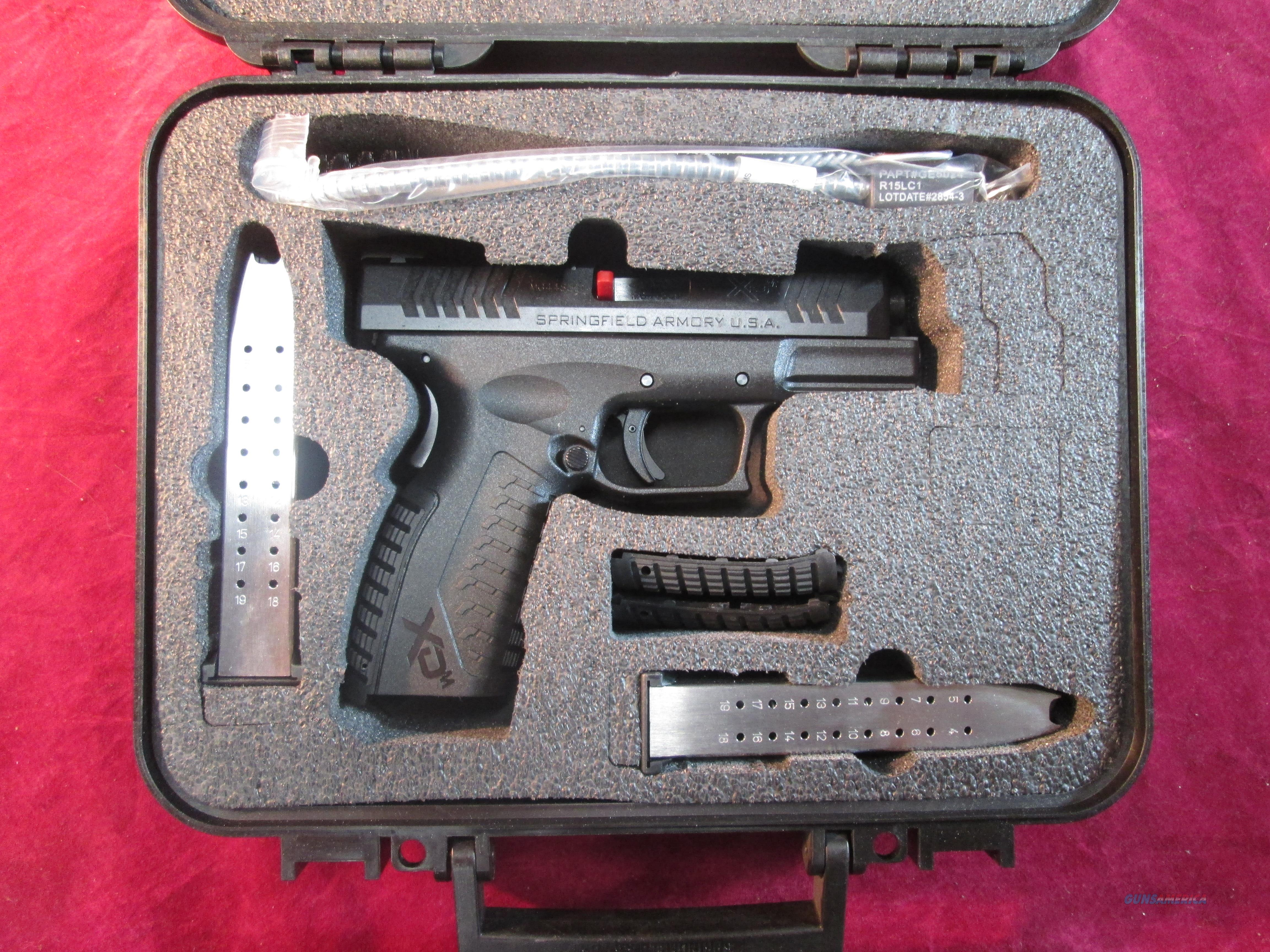 "SPRINGFIELD ARMORY XDM 3.8"" BLACK 9MM NEW (XDM9389BHCE) {{ FACTORY MAIL IN REBATE OFFER }}  Guns > Pistols > Springfield Armory Pistols > XD-M"