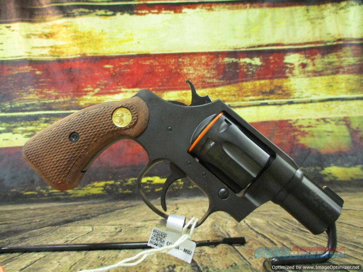 "Colt Night Cobra 38 Spl+P 6-Round 2"" Matte Black Wood Grips (COBRAMB2BB)  Guns > Pistols > Colt Double Action Revolvers- Modern"