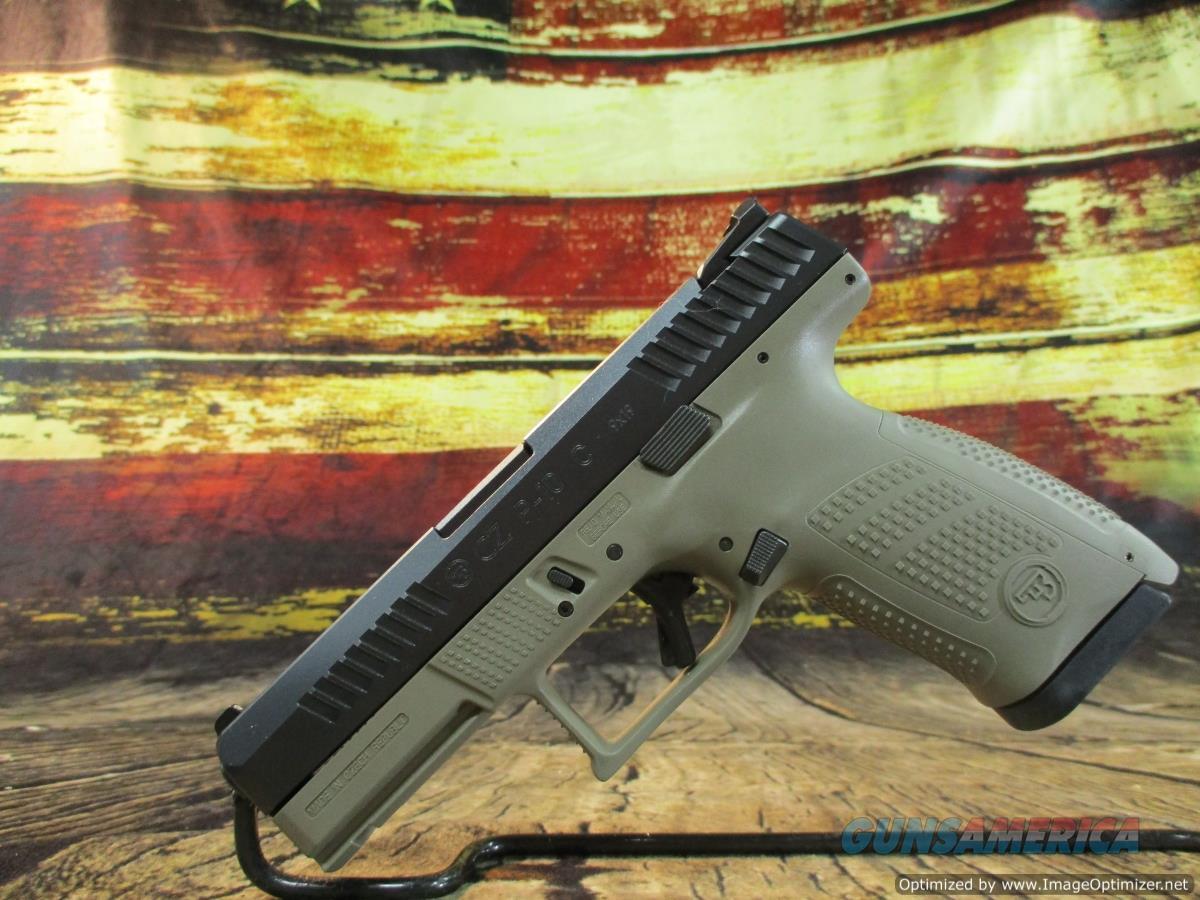 CZ P-10C 9mm FDE 4.02 15+1 NEW (01532)  Guns > Pistols > CZ Pistols