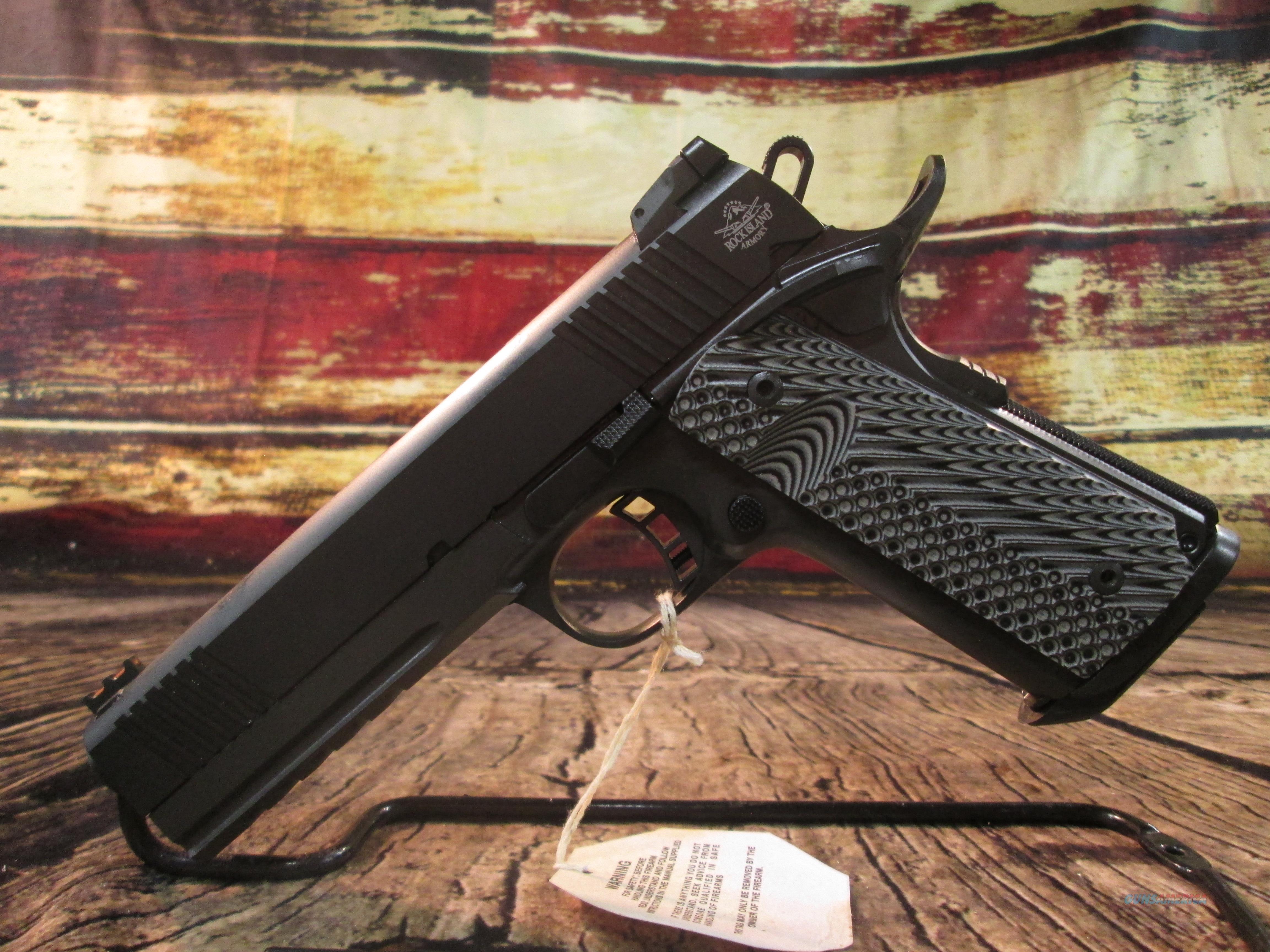 "Rock Island 10MM Tactical Ultra FS 1911 5"" New (51914)  Guns > Pistols > Rock Island Armory Pistols > Rock Island"