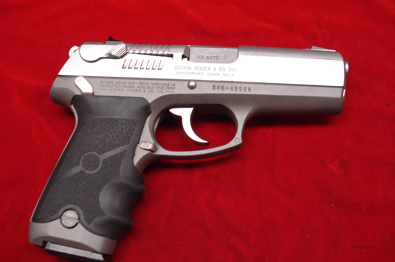 Wm 40 Cal Semi Automatic Handgun