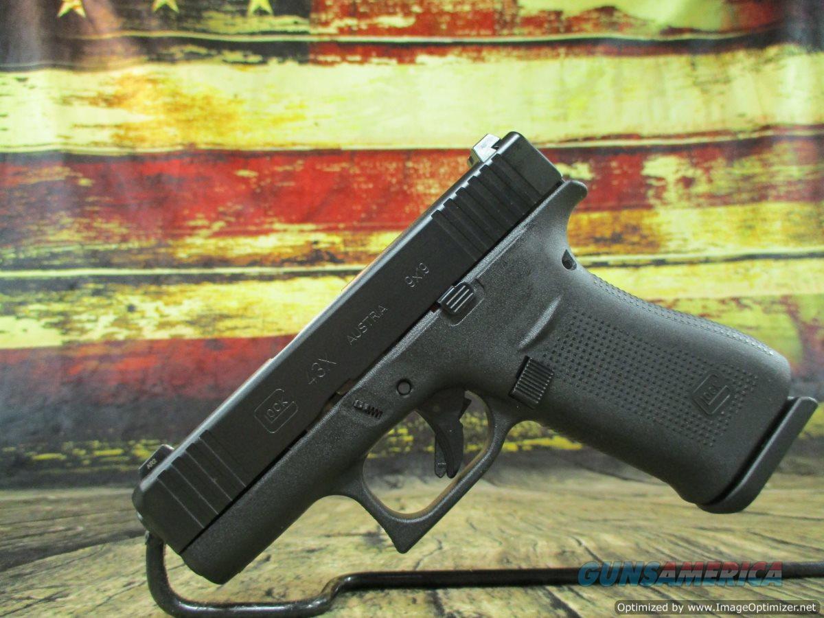 Glock 9MM Model 43X Night Sights Blackened Slide New (PX4350701)  Guns > Pistols > Glock Pistols > 43/43X