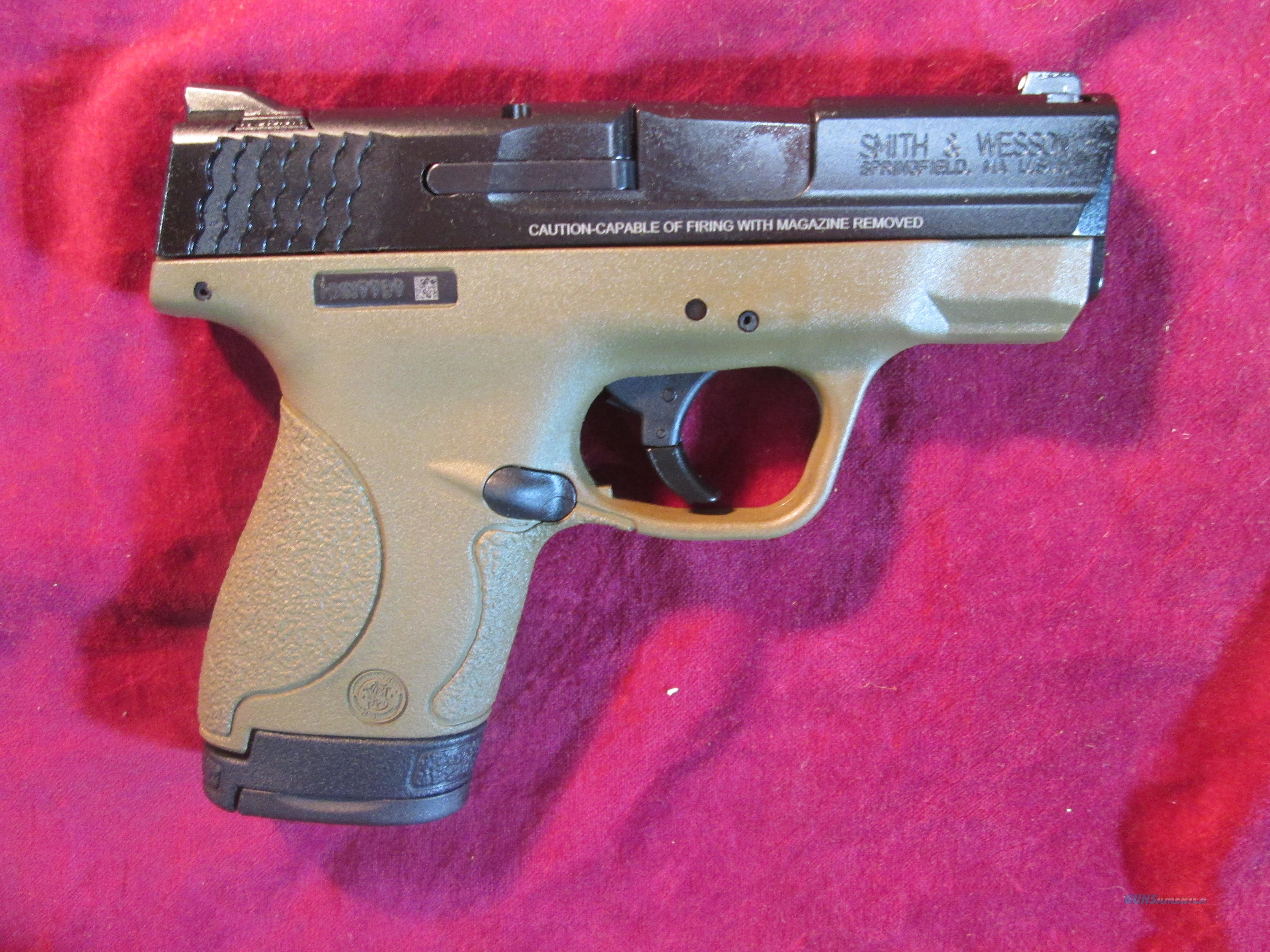 SMITH AND WESSON M&P SHIELD 9MM FDE NEW (10303)  Guns > Pistols > Smith & Wesson Pistols - Autos > Polymer Frame