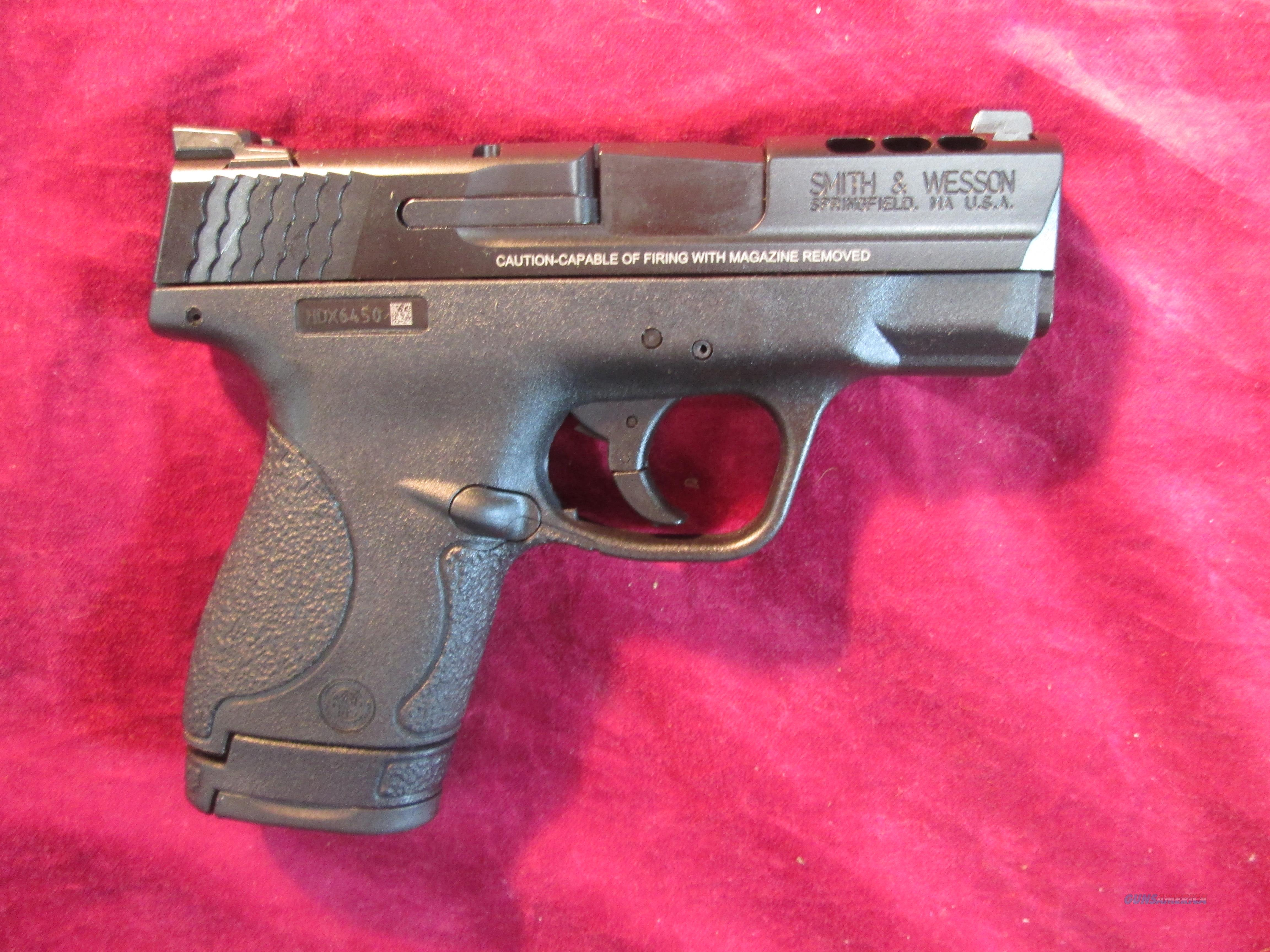 SMITH AND WESSON M&P SHIELD .40 S&W PERFORMANCE CENTER NEW (11631)   Guns > Pistols > Smith & Wesson Pistols - Autos > Polymer Frame