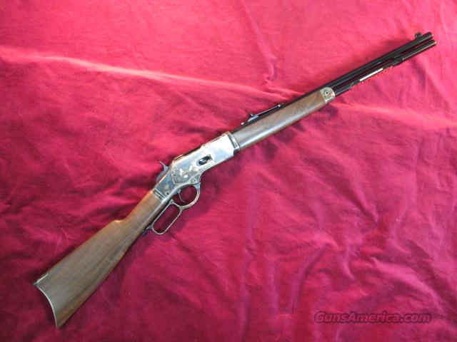 WINCHESTER 1873 SHORT RIFLE CASE HARDENED 44-40 NEW  Guns > Rifles > Winchester Rifles - Modern Lever > Other Lever > Post-64