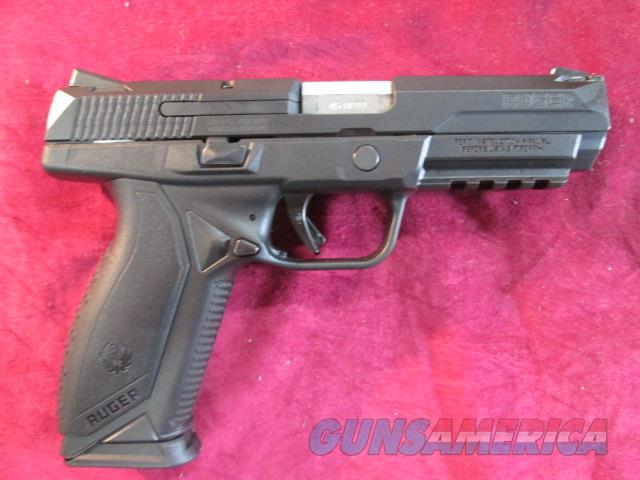 RUGER AMERICAN PISTOL 45ACP BLACK NITRIDE NEW   (08615)   Guns > Pistols > Ruger Semi-Auto Pistols > American Pistol