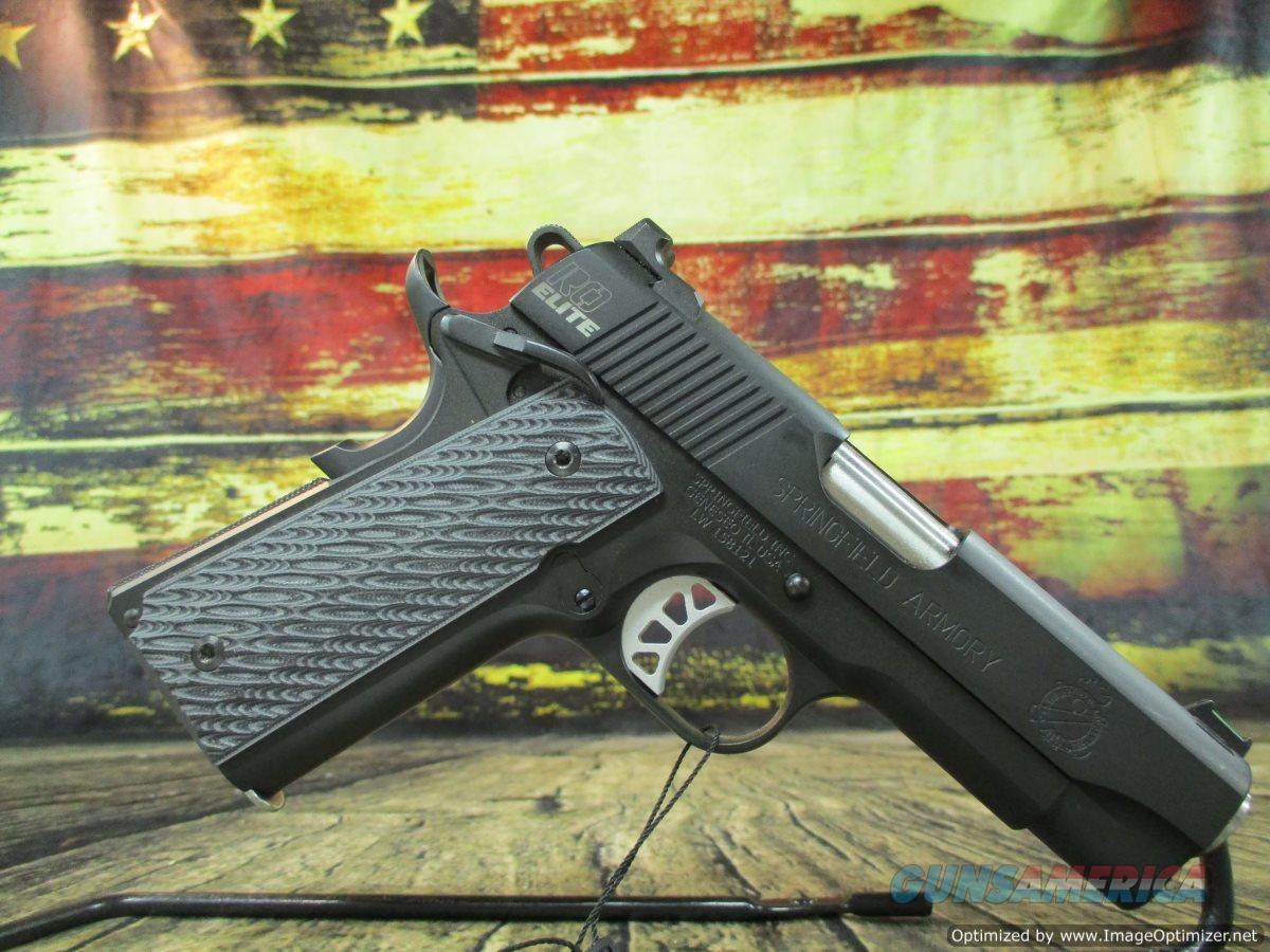 "Springfield Range Officer Elite Champion 9mm Used 4"" (67473)  Guns > Pistols > Springfield Armory Pistols > 1911 Type"