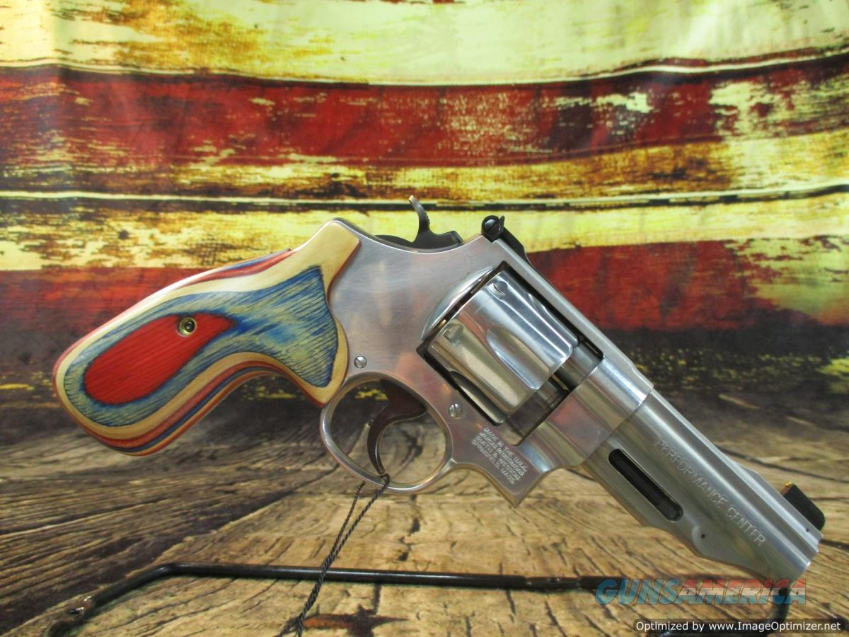 """Smith & Wesson 45 ACP Model 625 Performance Center 4"""" New (170161)  Guns > Pistols > Smith & Wesson Revolvers > Med. Frame ( K/L )"""