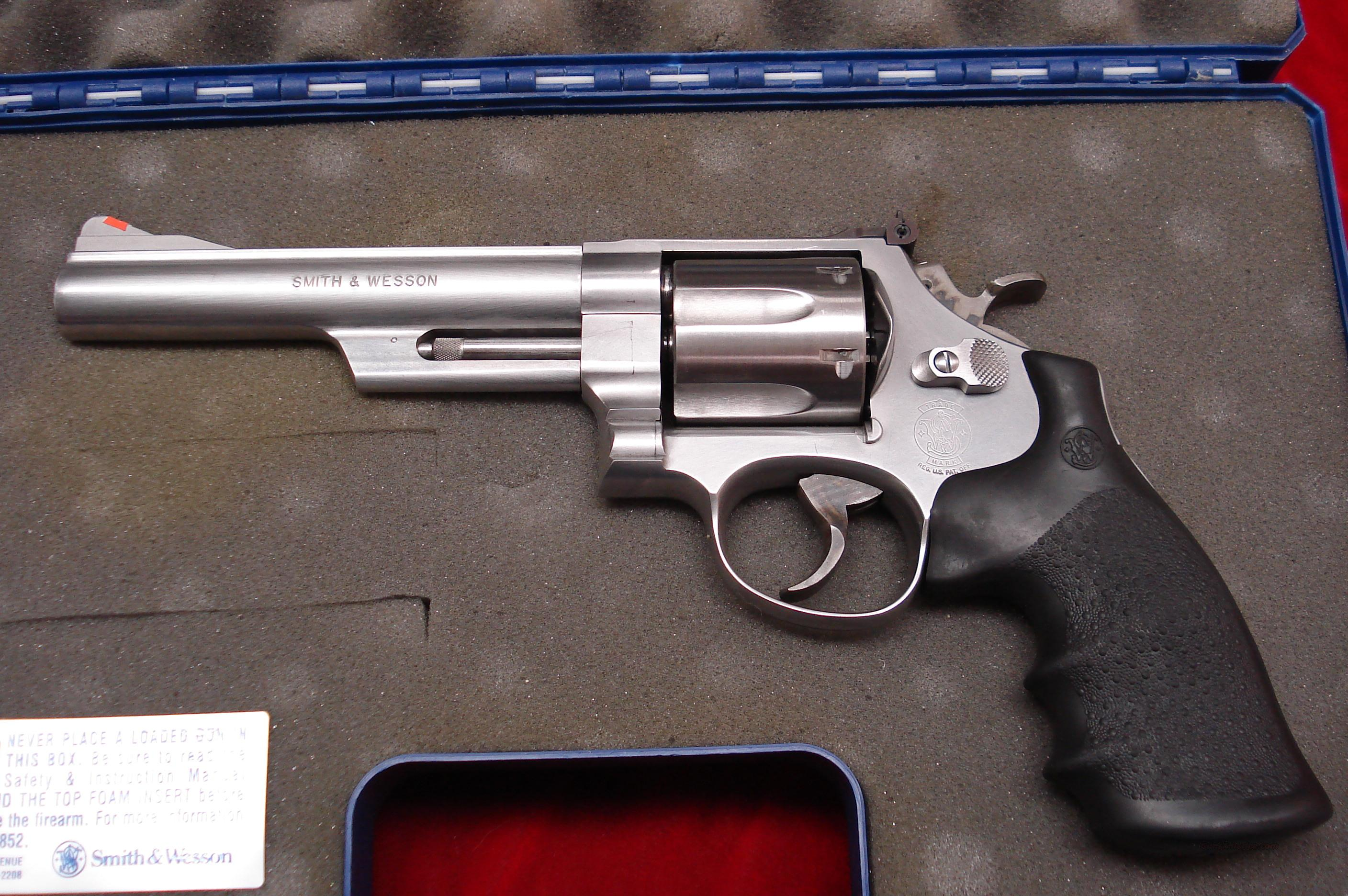 "SMITH AND WESSON 629  6"" 44MAG. USED  Guns > Pistols > Smith & Wesson Revolvers > Model 629"