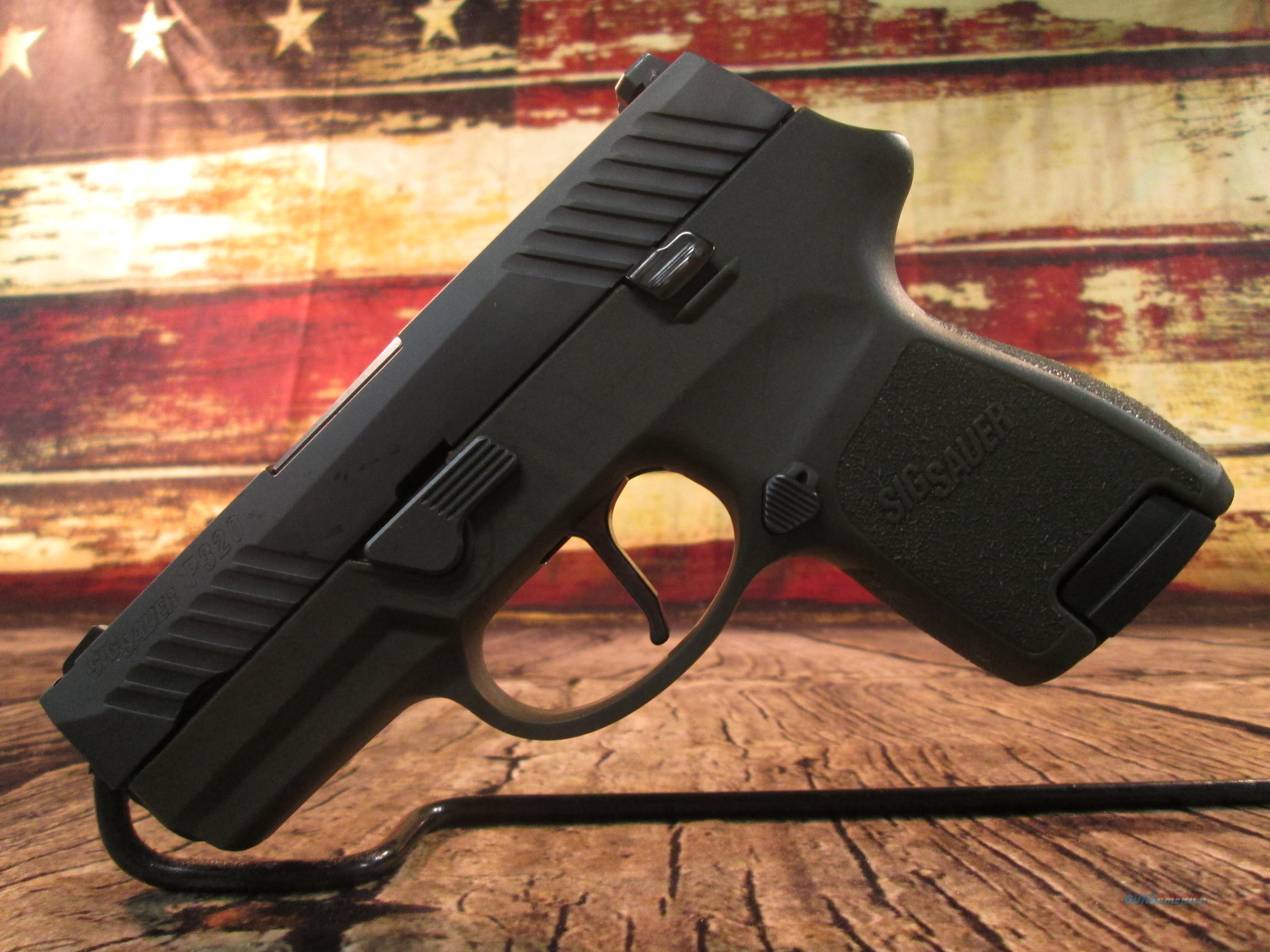 SIG SAUER P320 SUB COMPACT OD GREEN W/ NIGHT SIGHTS (62841)  Guns > Pistols > Sig - Sauer/Sigarms Pistols > P320