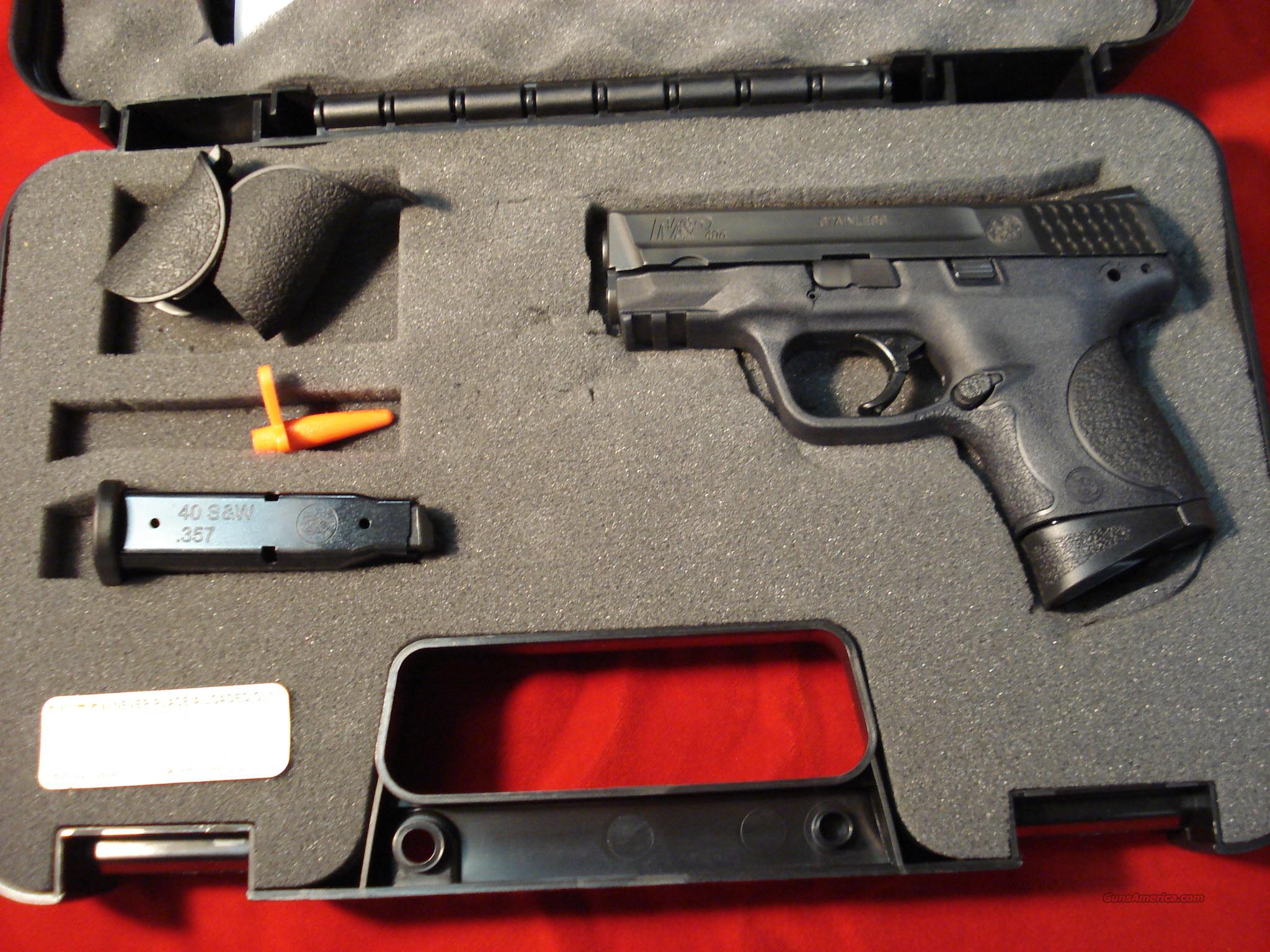 SMITH AND WESSON M&P COMPACT 40CAL NEW   (109303)   Guns > Pistols > Smith & Wesson Pistols - Autos > Polymer Frame