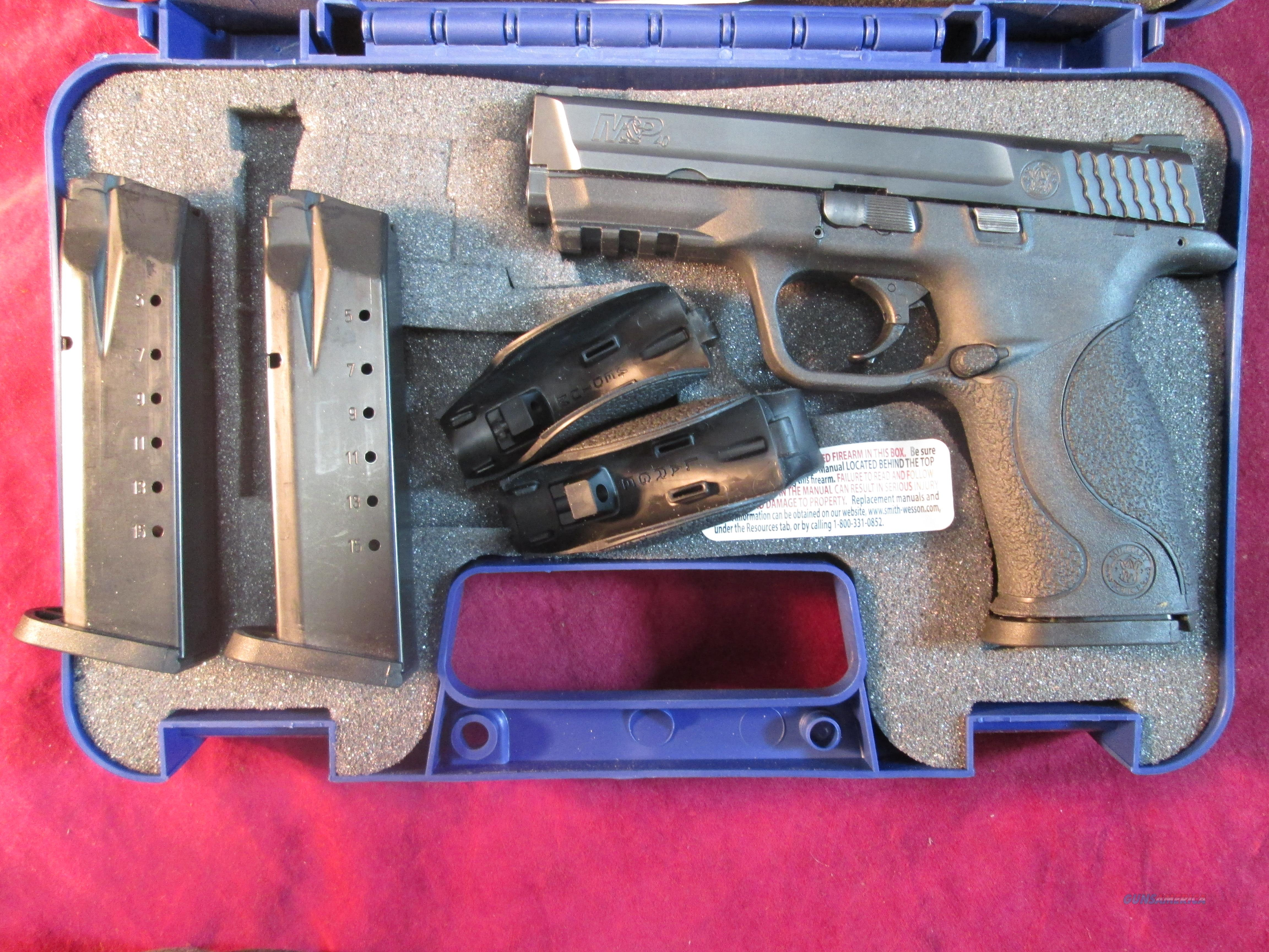 SMITH AND WESSON M&P 40CAL W/ 3 MAGS USED  Guns > Pistols > Smith & Wesson Pistols - Autos > Polymer Frame