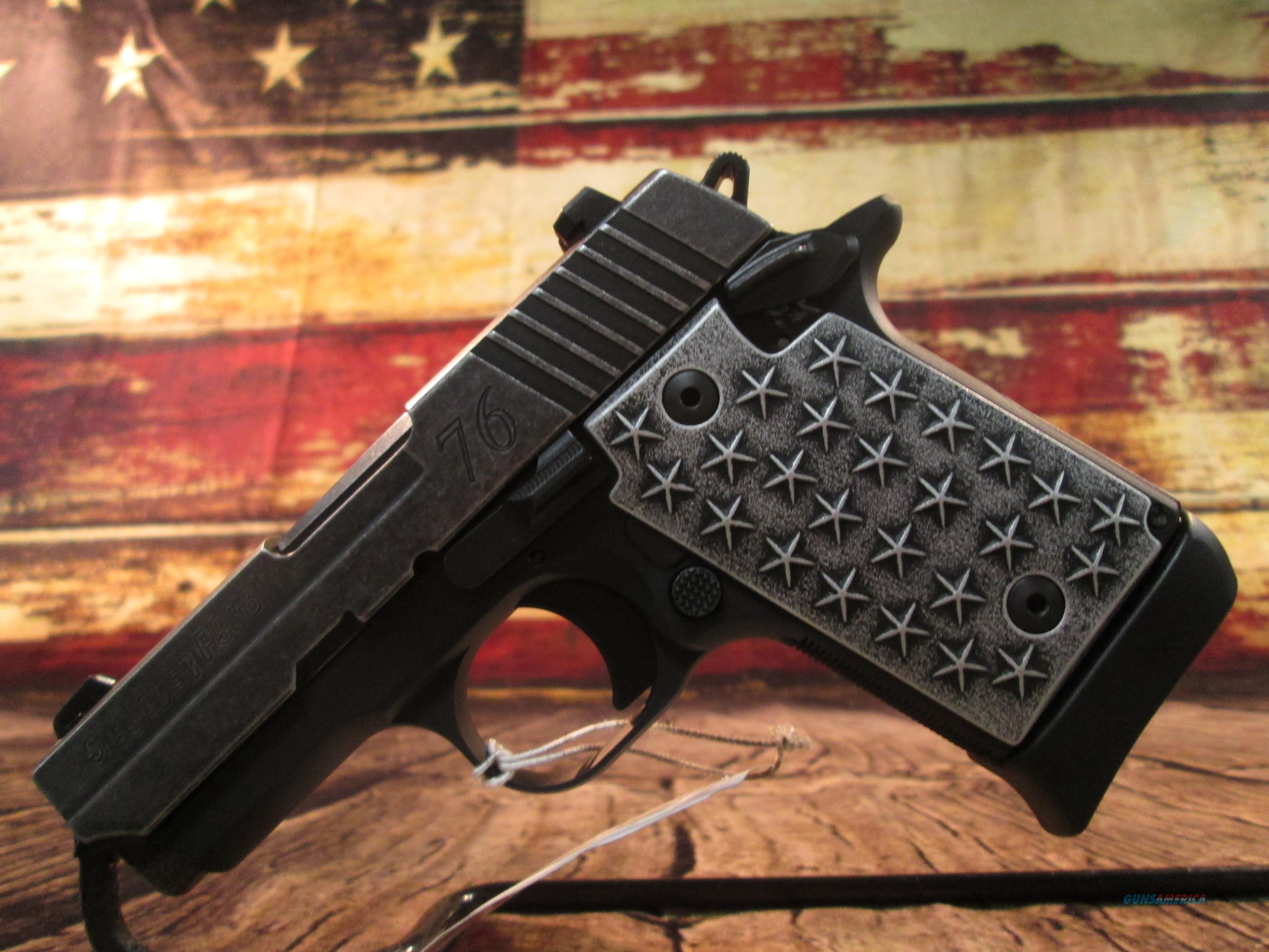 "SIG SAUER P938 ""WE THE PEOPLE"" 9MM (938-9-WTP)  Guns > Pistols > Sig - Sauer/Sigarms Pistols > P938"