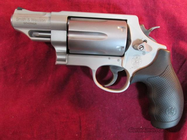 SMITH AND WESSON GOVERNOR STAINLESS,45COLT/45ACP/410G REVOLVER NEW (160410)  Guns > Pistols > Smith & Wesson Revolvers > Full Frame Revolver